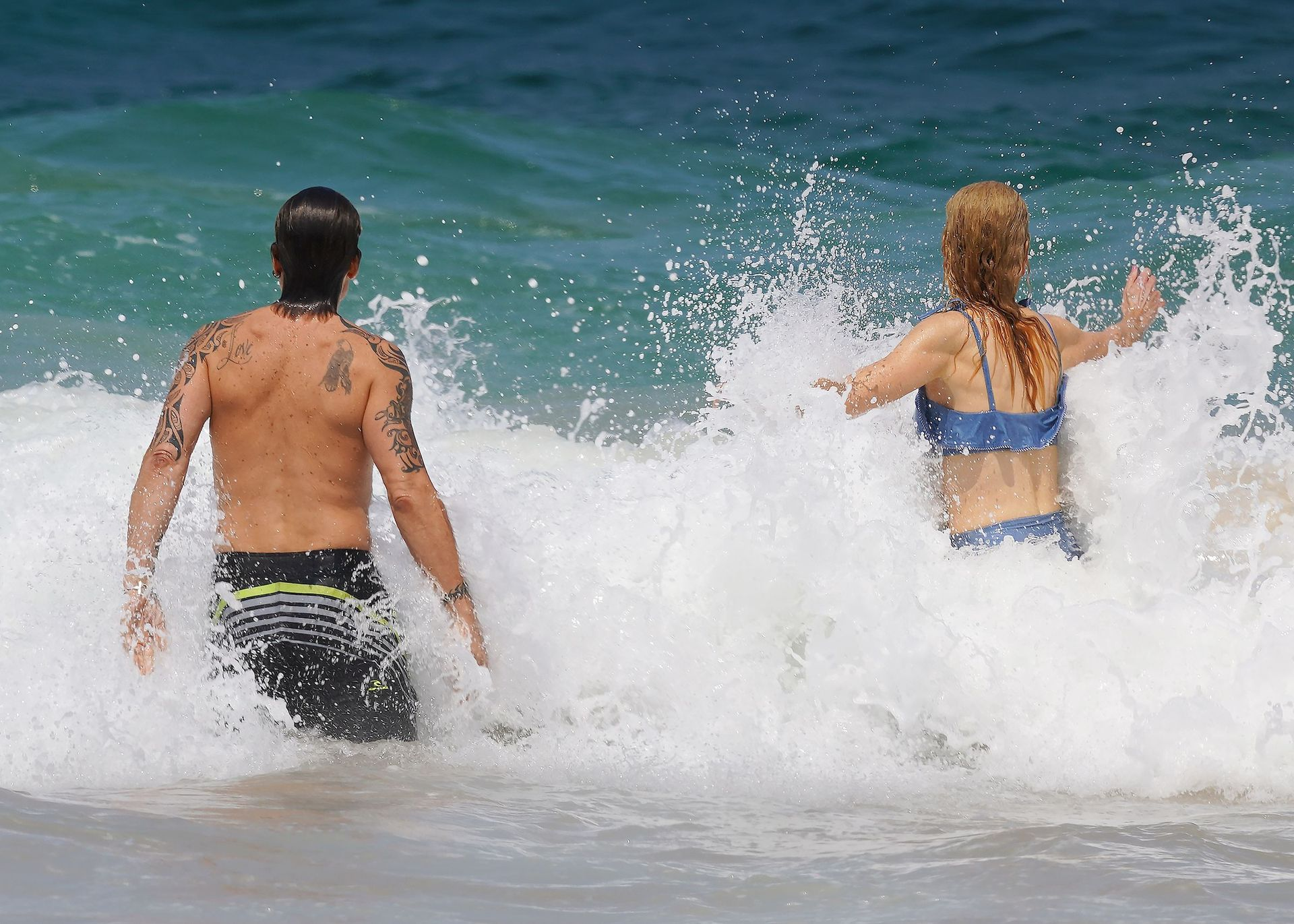 Nicole Kidman Hits The Beach While In Sydney With Her Family 0013