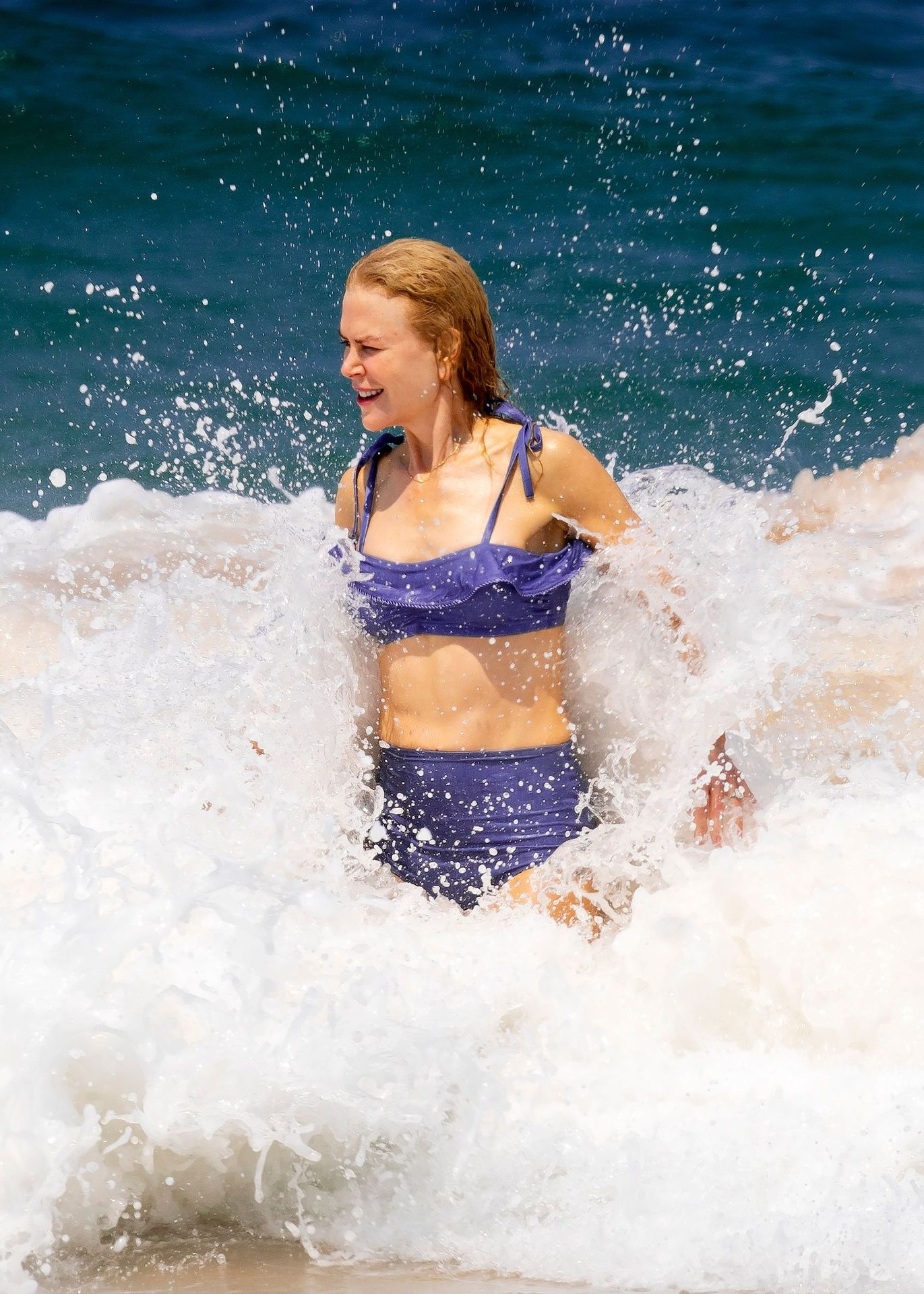 Nicole Kidman Hits The Beach While In Sydney With Her Family 0019