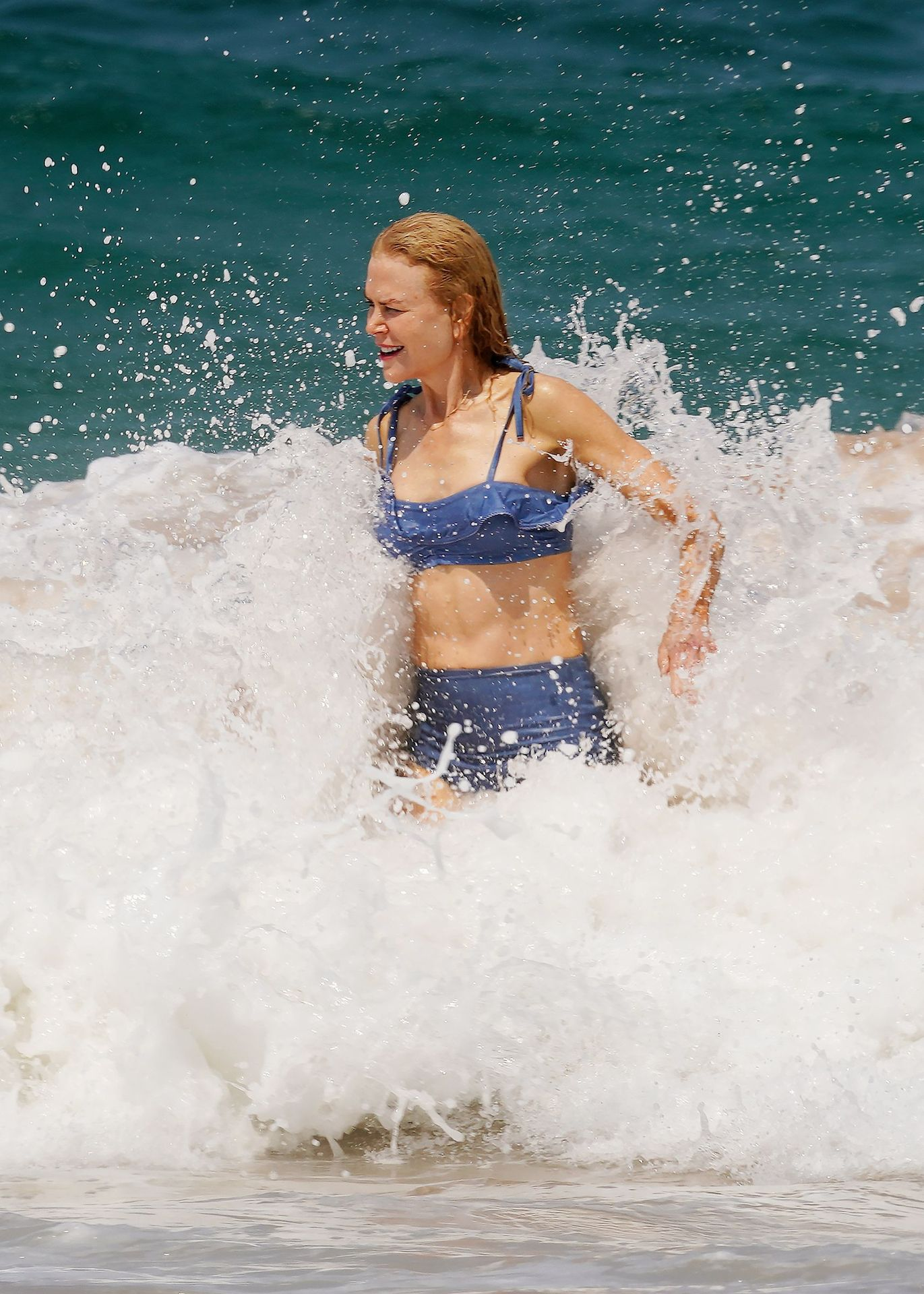 Nicole Kidman Hits The Beach While In Sydney With Her Family 0020