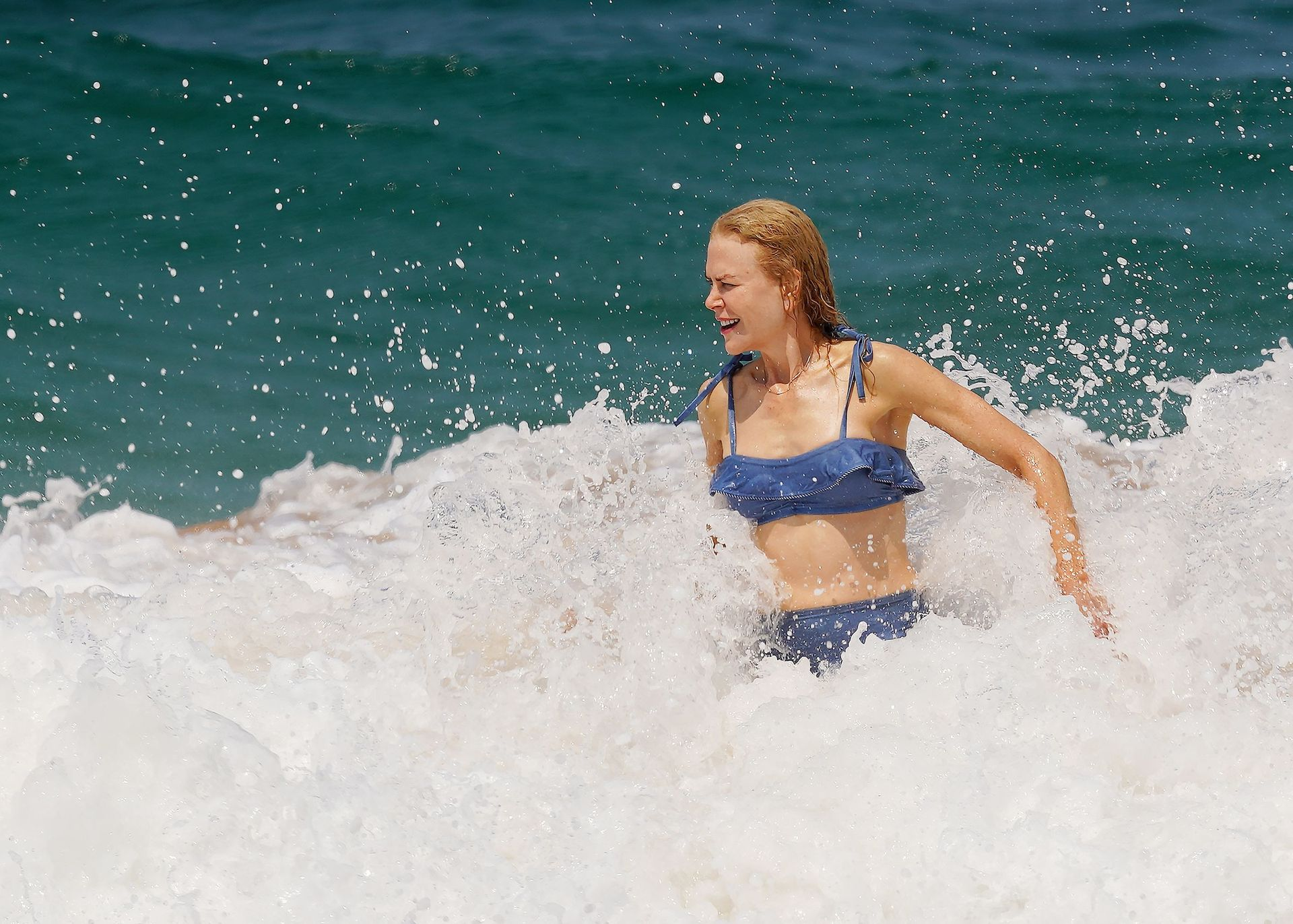 Nicole Kidman Hits The Beach While In Sydney With Her Family 0022