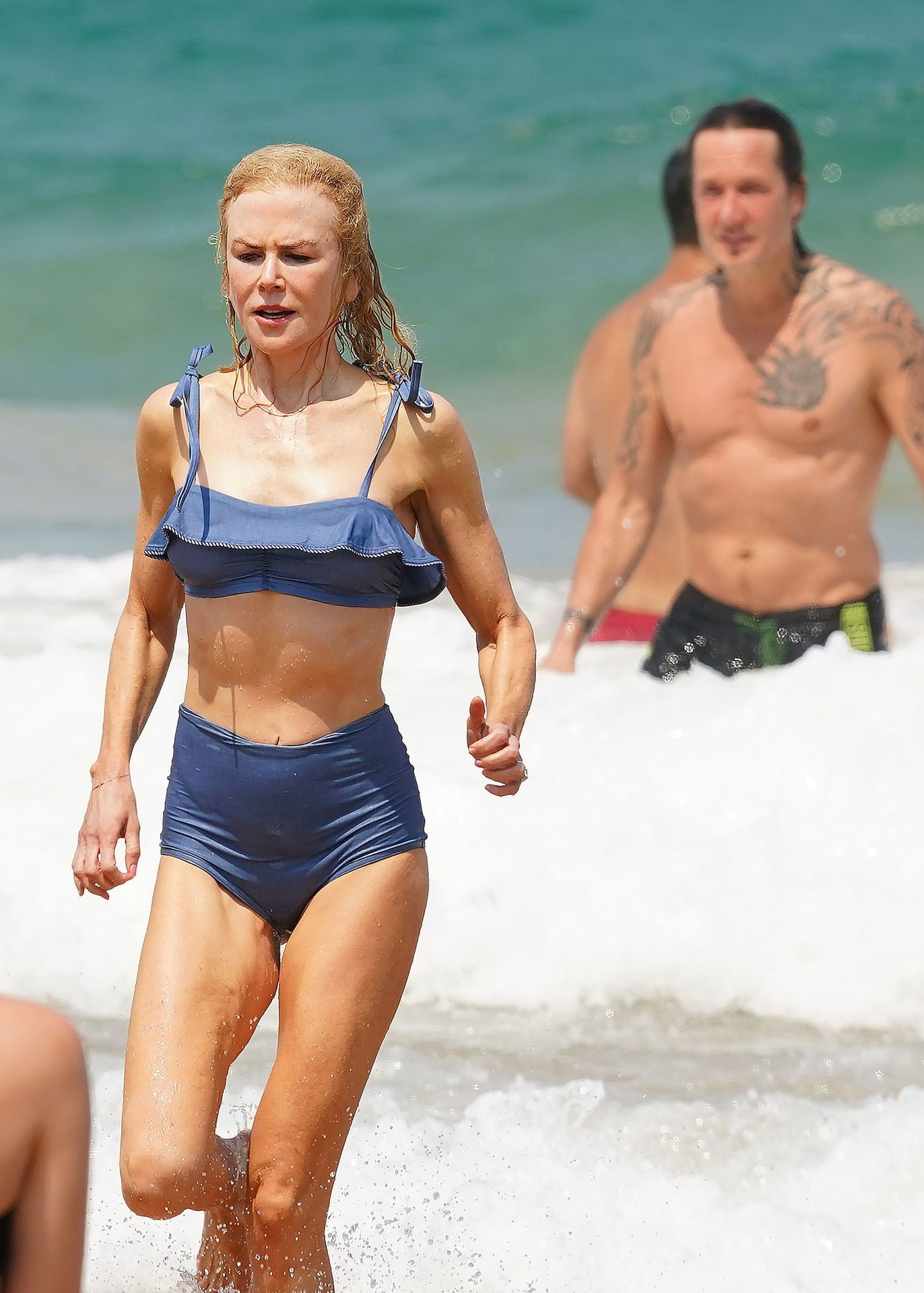 Nicole Kidman Hits The Beach While In Sydney With Her Family 0030