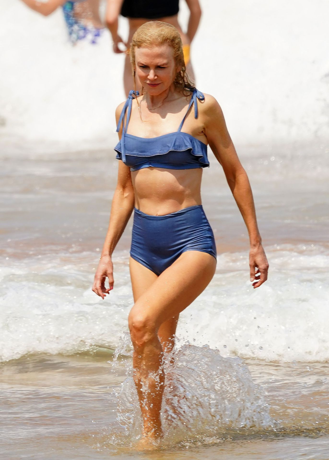 Nicole Kidman Hits The Beach While In Sydney With Her Family 0037