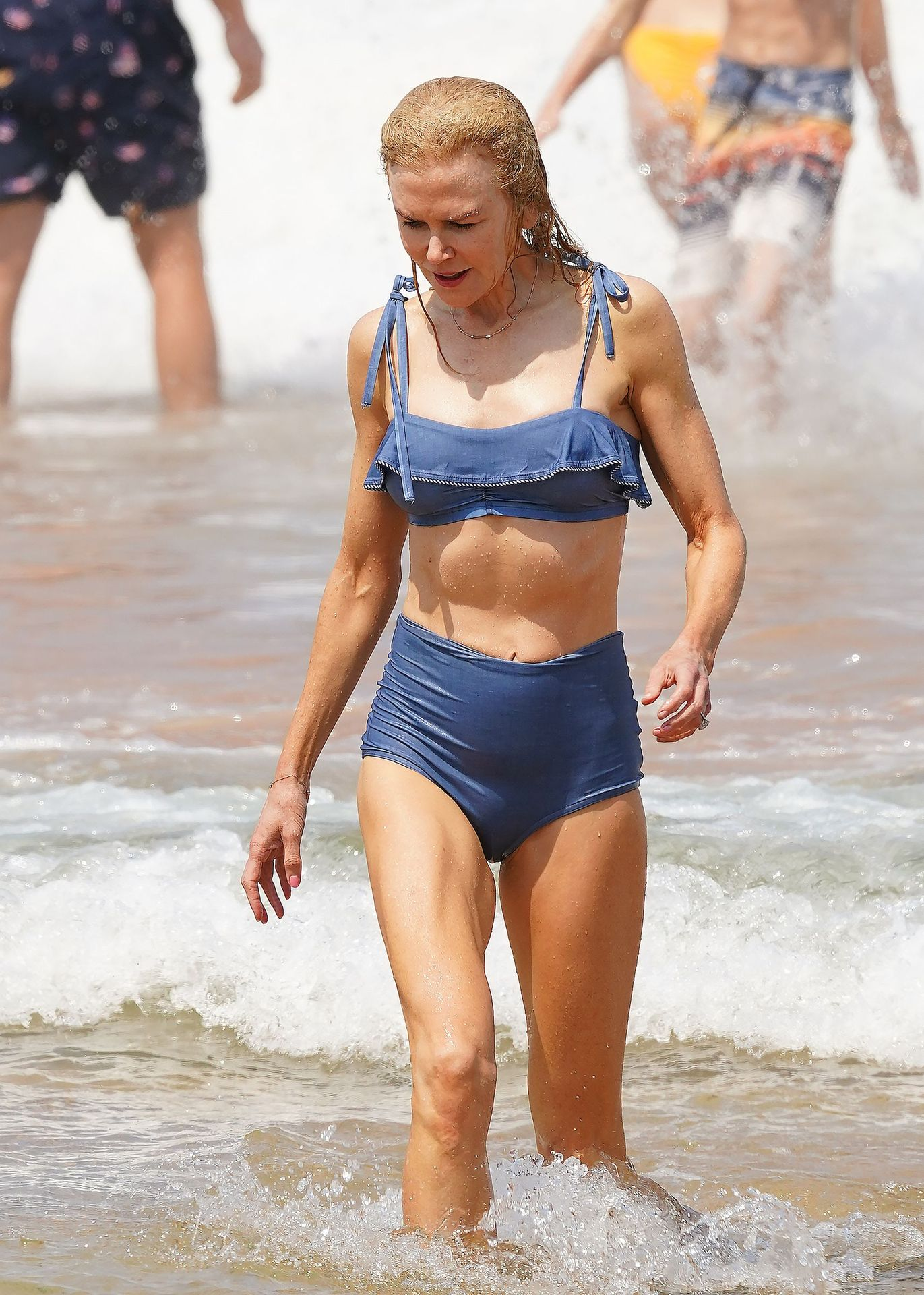 Nicole Kidman Hits The Beach While In Sydney With Her Family 0040