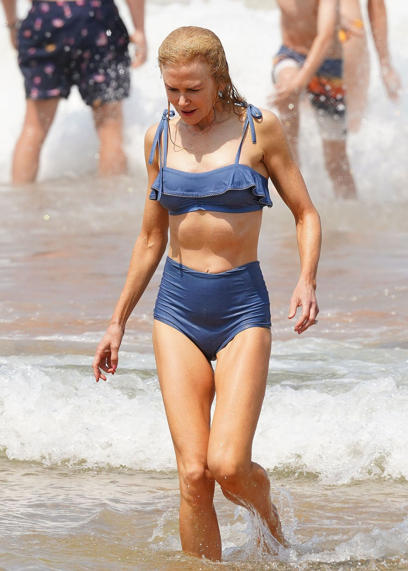Nicole Kidman Hits The Beach While In Sydney With Her Family 0043