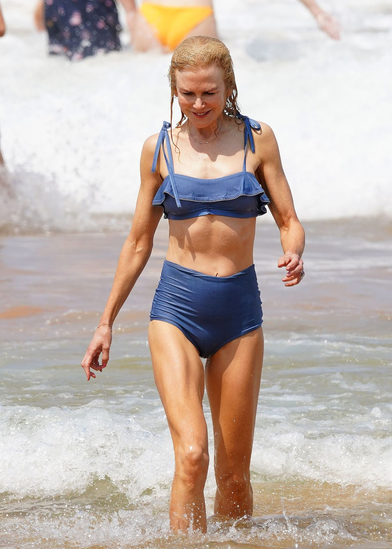 Nicole Kidman Hits The Beach While In Sydney With Her Family 0054
