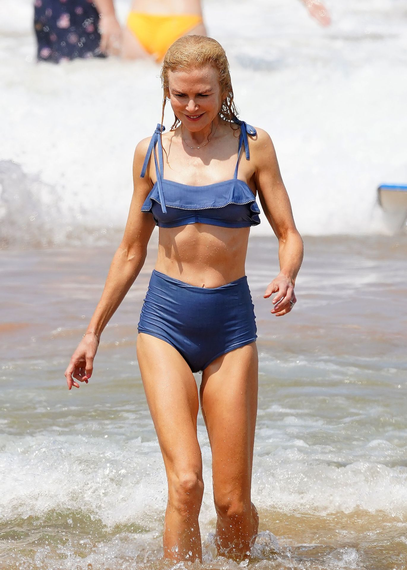 Nicole Kidman Hits The Beach While In Sydney With Her Family 0055