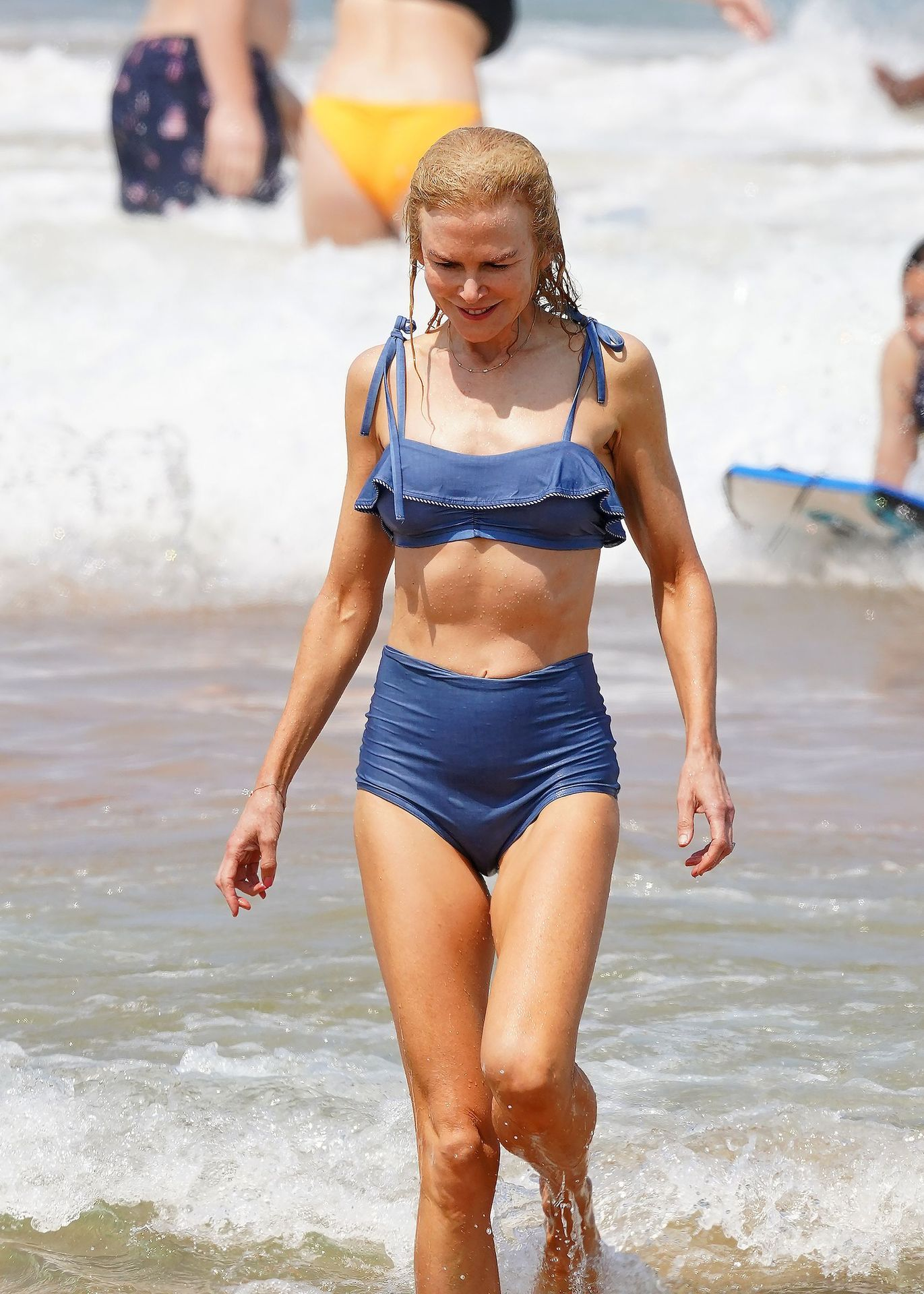 Nicole Kidman Hits The Beach While In Sydney With Her Family 0056
