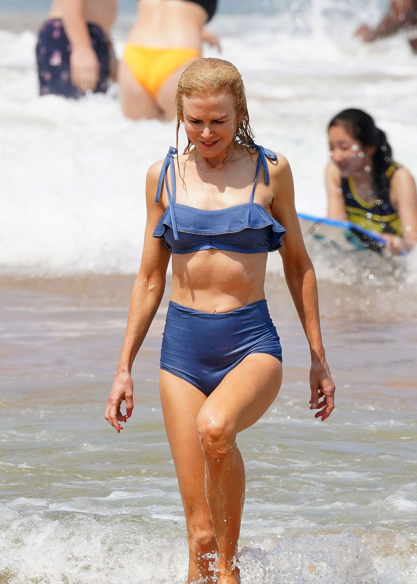Nicole Kidman Hits The Beach While In Sydney With Her Family 0057