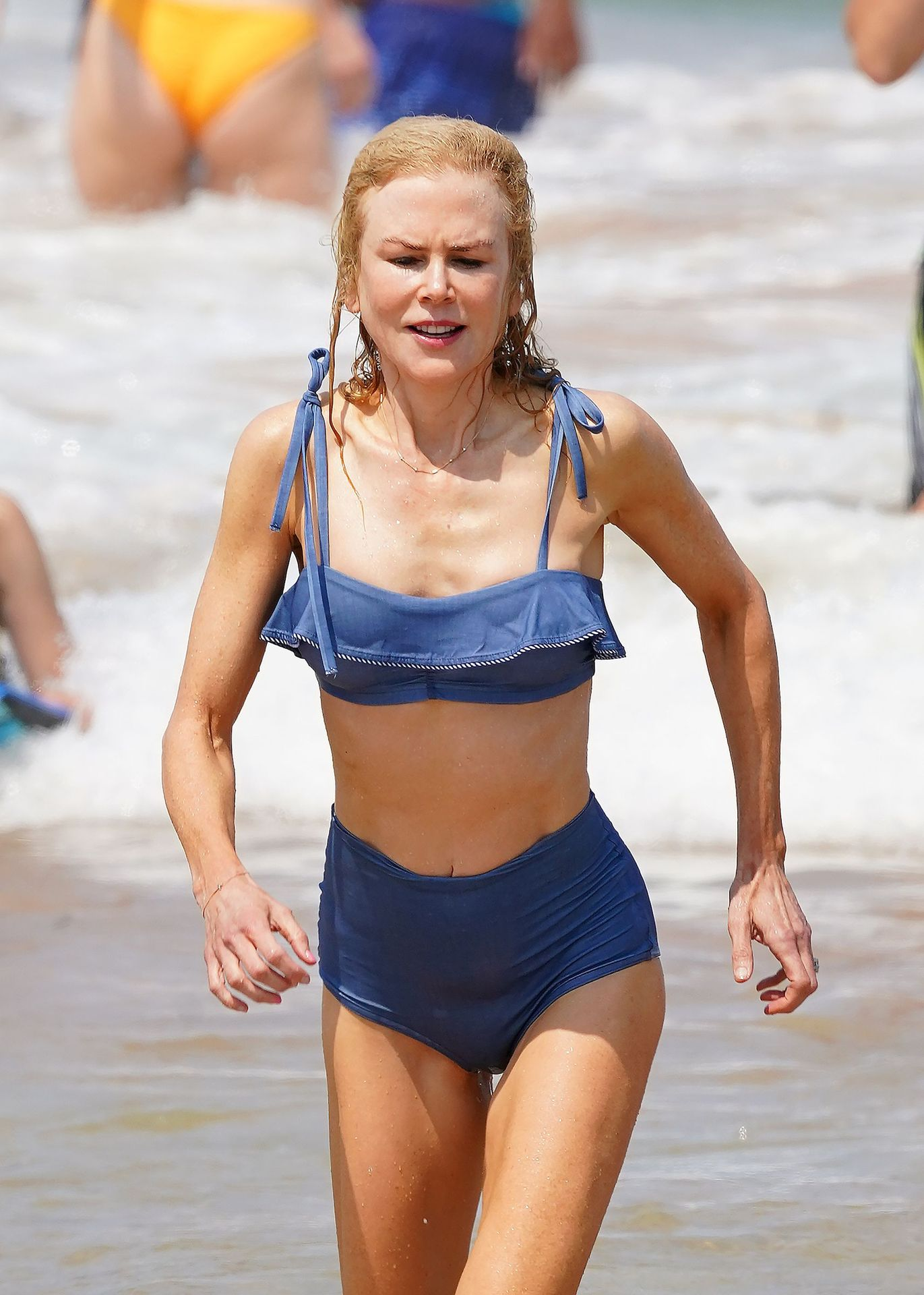 Nicole Kidman Hits The Beach While In Sydney With Her Family 0067