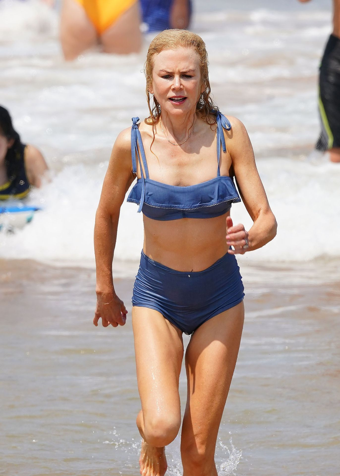 Nicole Kidman Hits The Beach While In Sydney With Her Family 0069