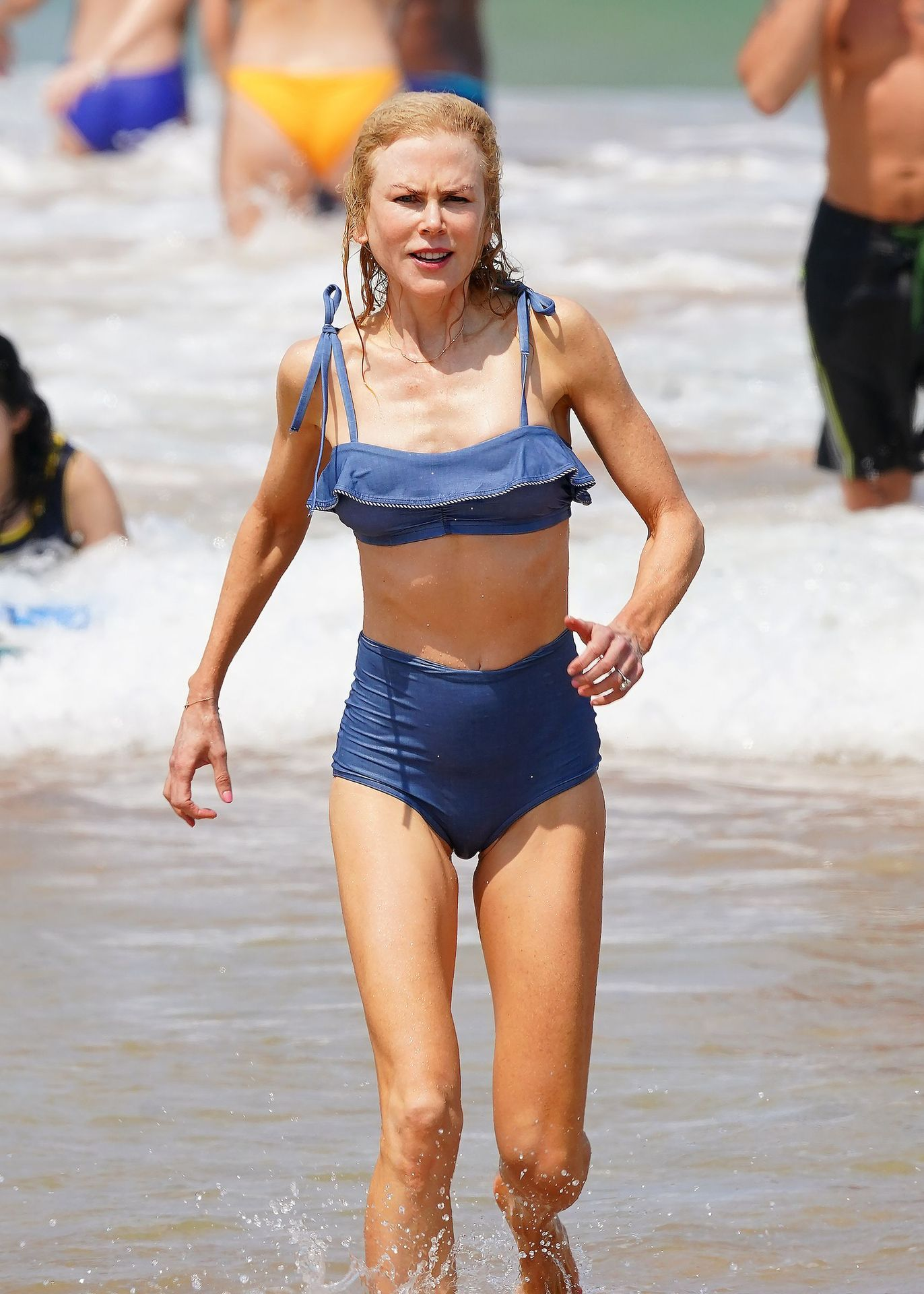 Nicole Kidman Hits The Beach While In Sydney With Her Family 0073