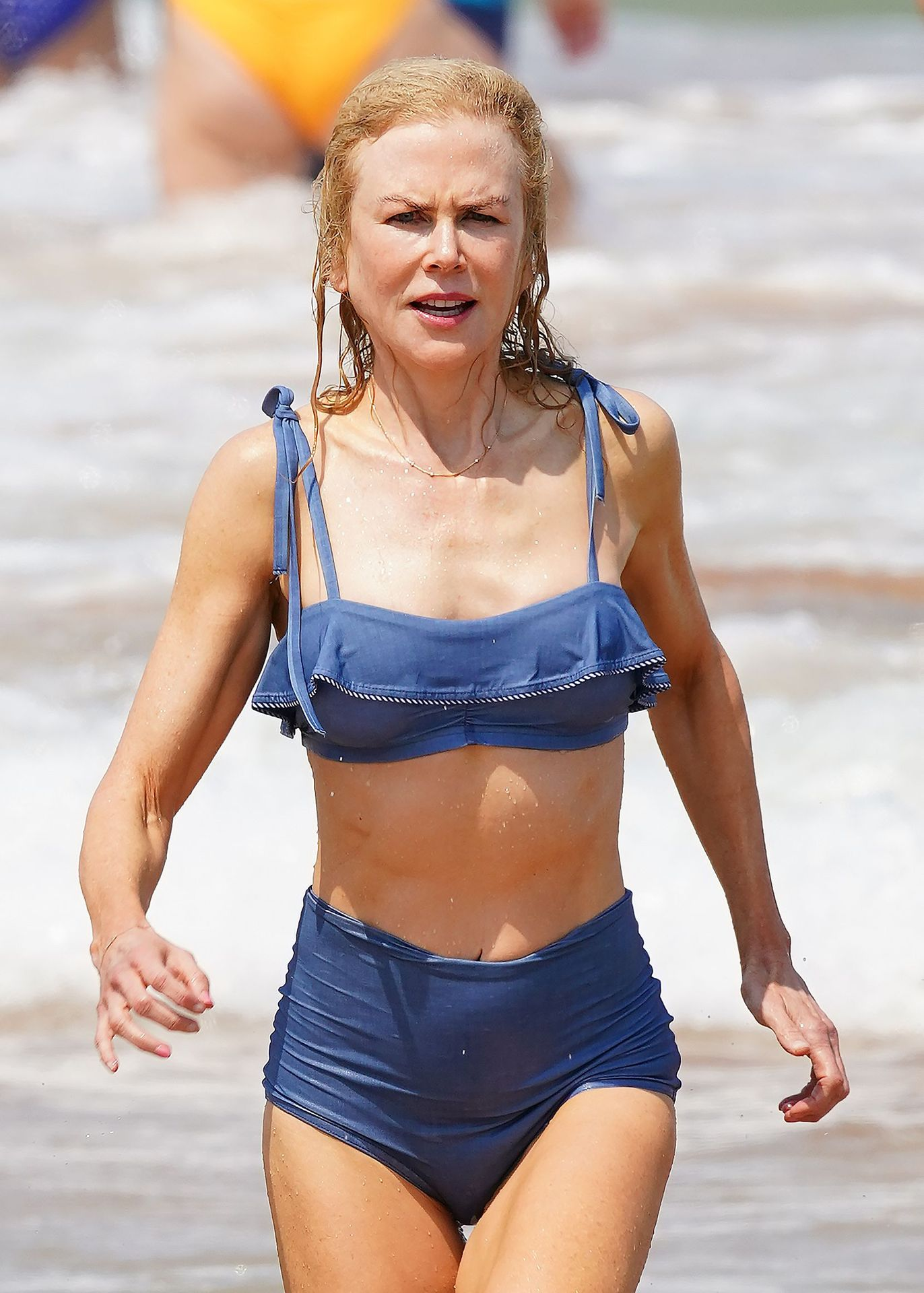 Nicole Kidman Hits The Beach While In Sydney With Her Family 0074