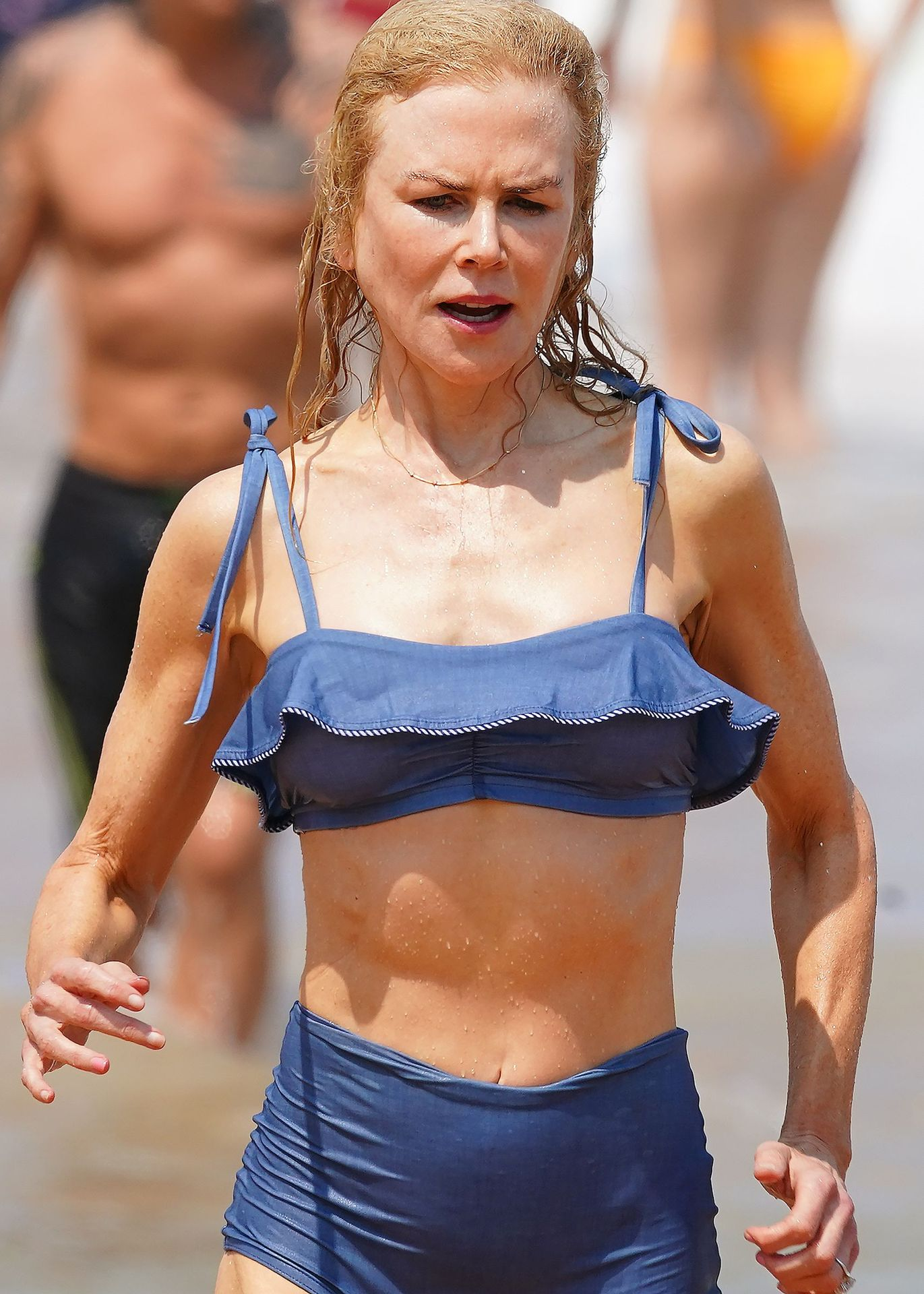 Nicole Kidman Hits The Beach While In Sydney With Her Family 0083