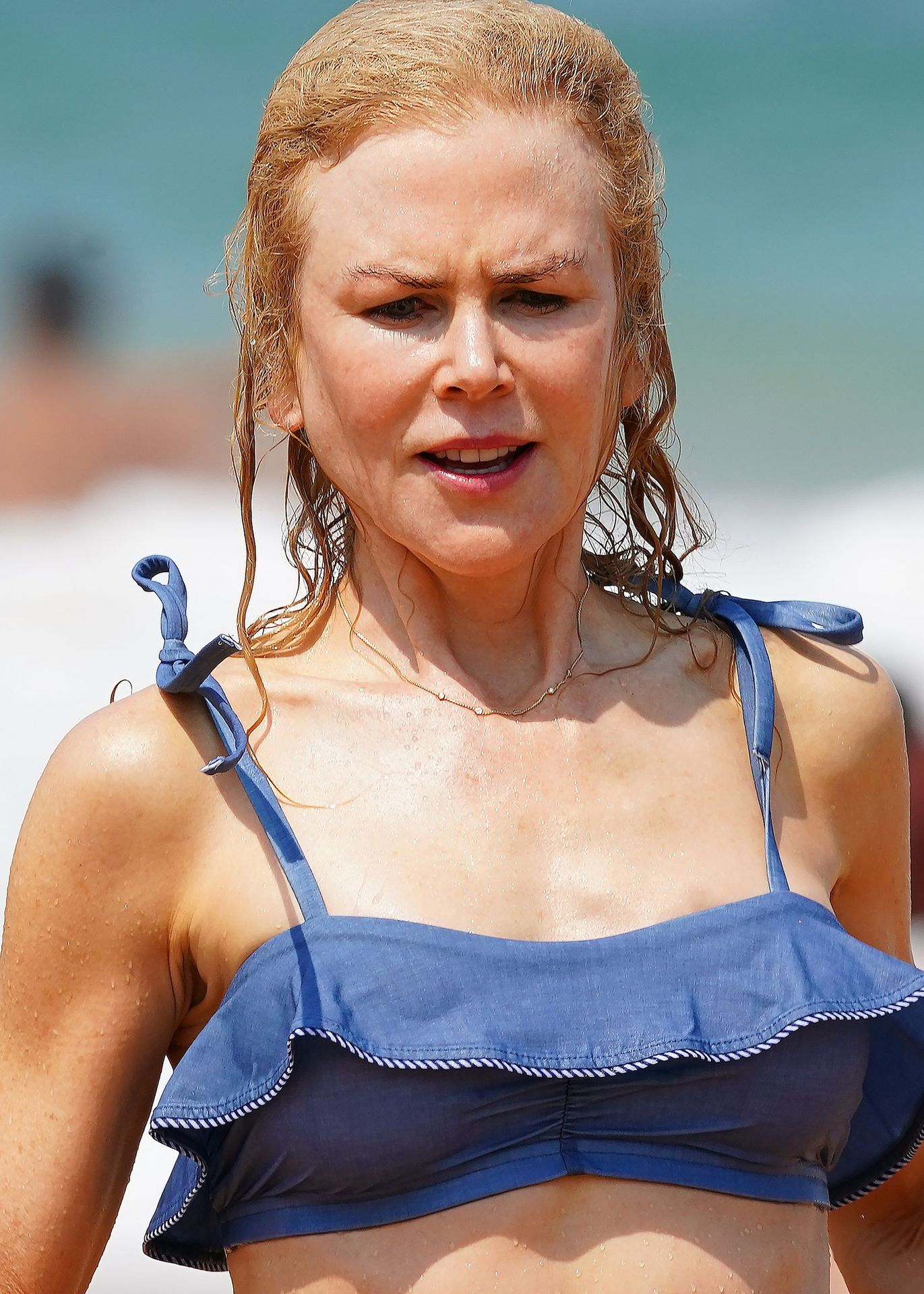 Nicole Kidman Hits The Beach While In Sydney With Her Family 0084