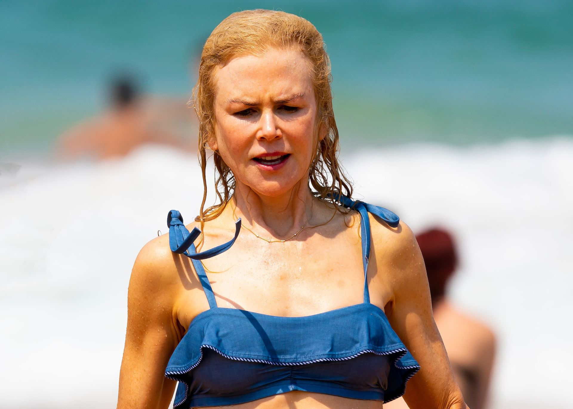 Nicole Kidman Hits The Beach While In Sydney With Her Family 0085