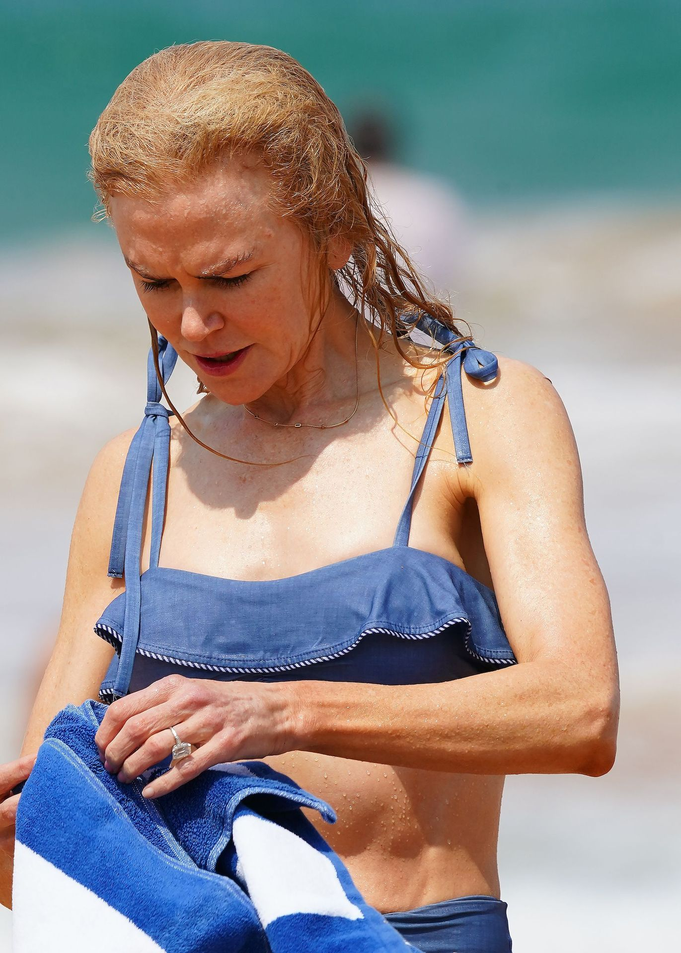 Nicole Kidman Hits The Beach While In Sydney With Her Family 0088