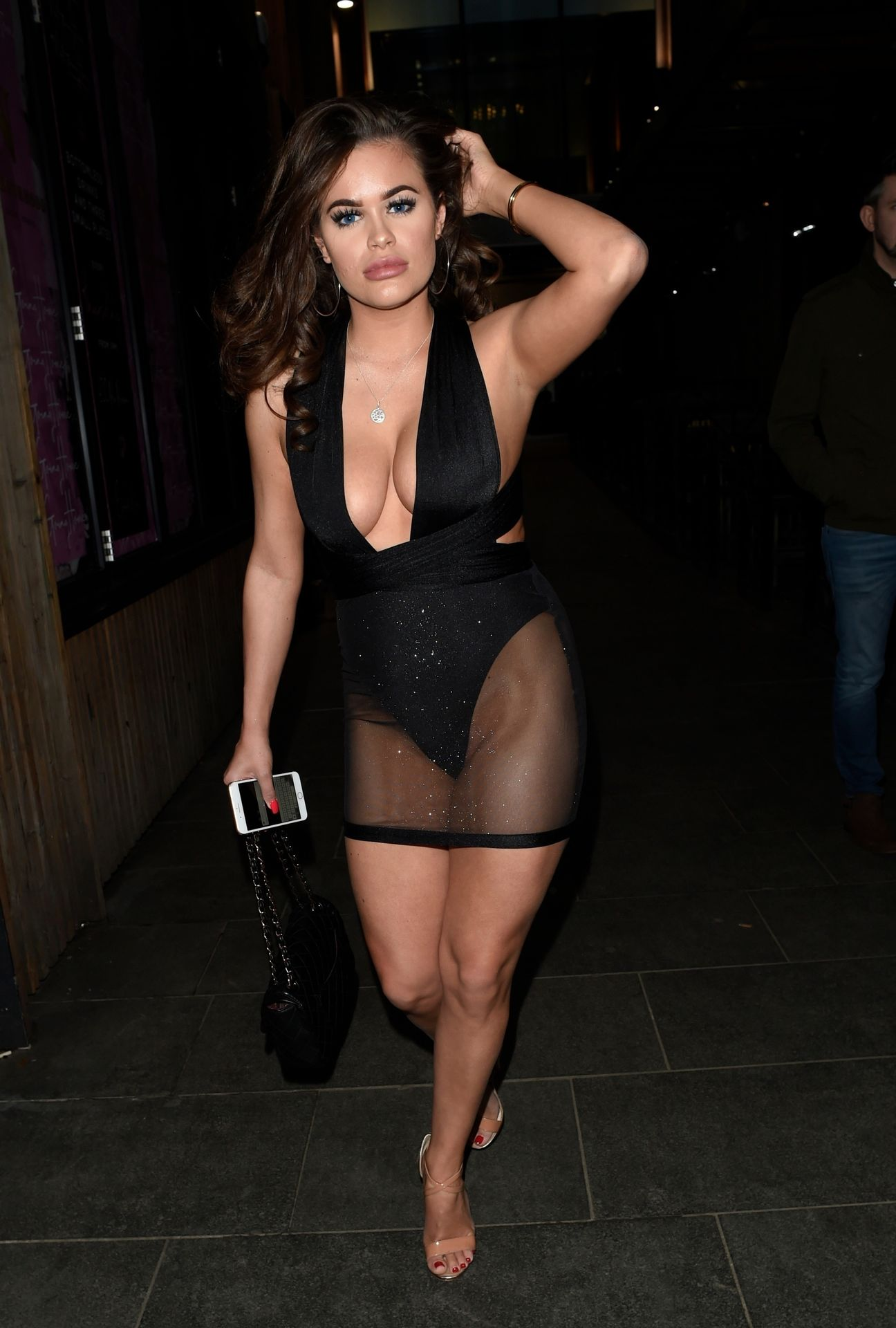Rhianne Saxby & Sarah Longbottom Look Hot In Manchester 0001