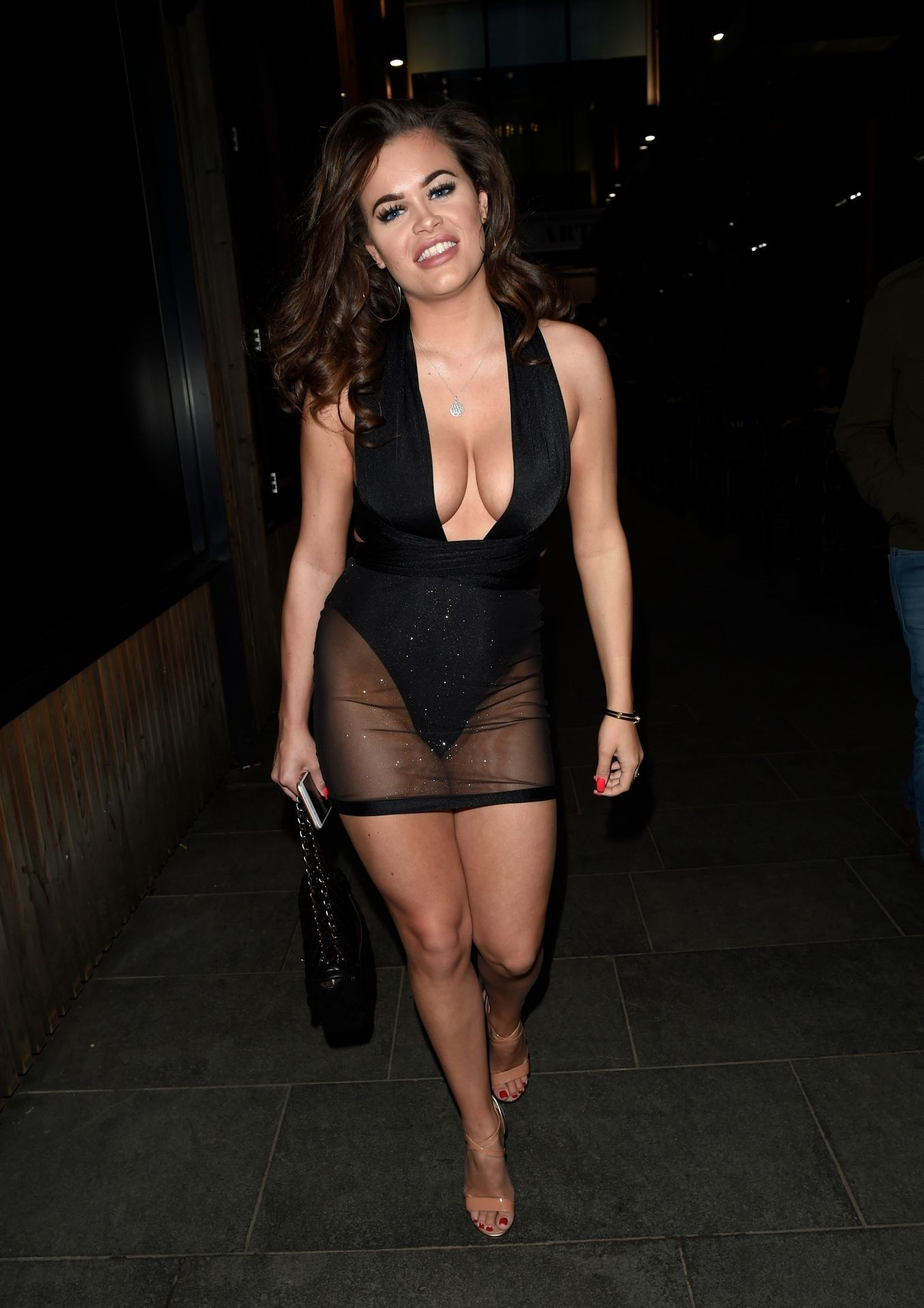 Rhianne Saxby & Sarah Longbottom Look Hot In Manchester 0003