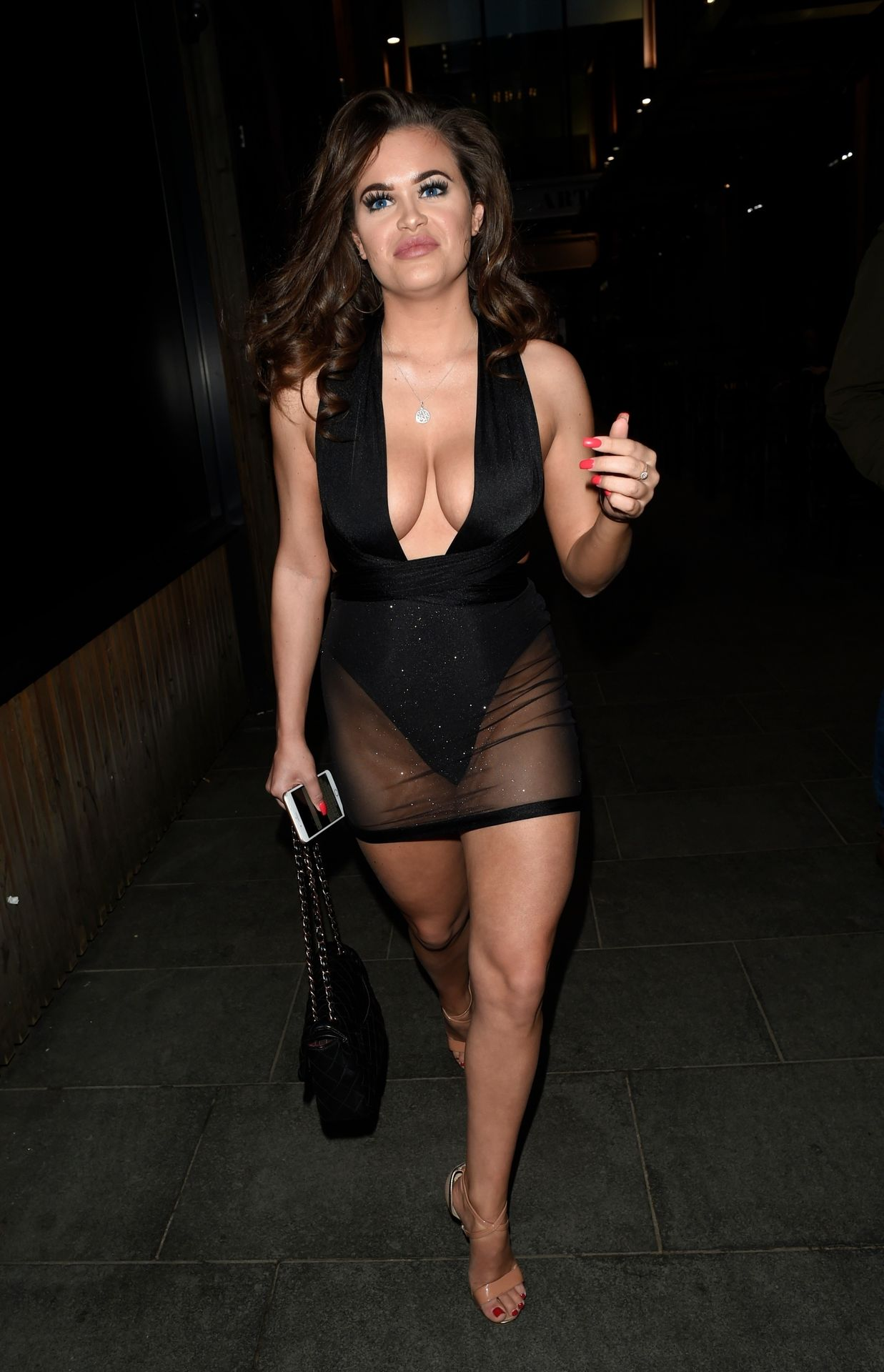 Rhianne Saxby & Sarah Longbottom Look Hot In Manchester 0004