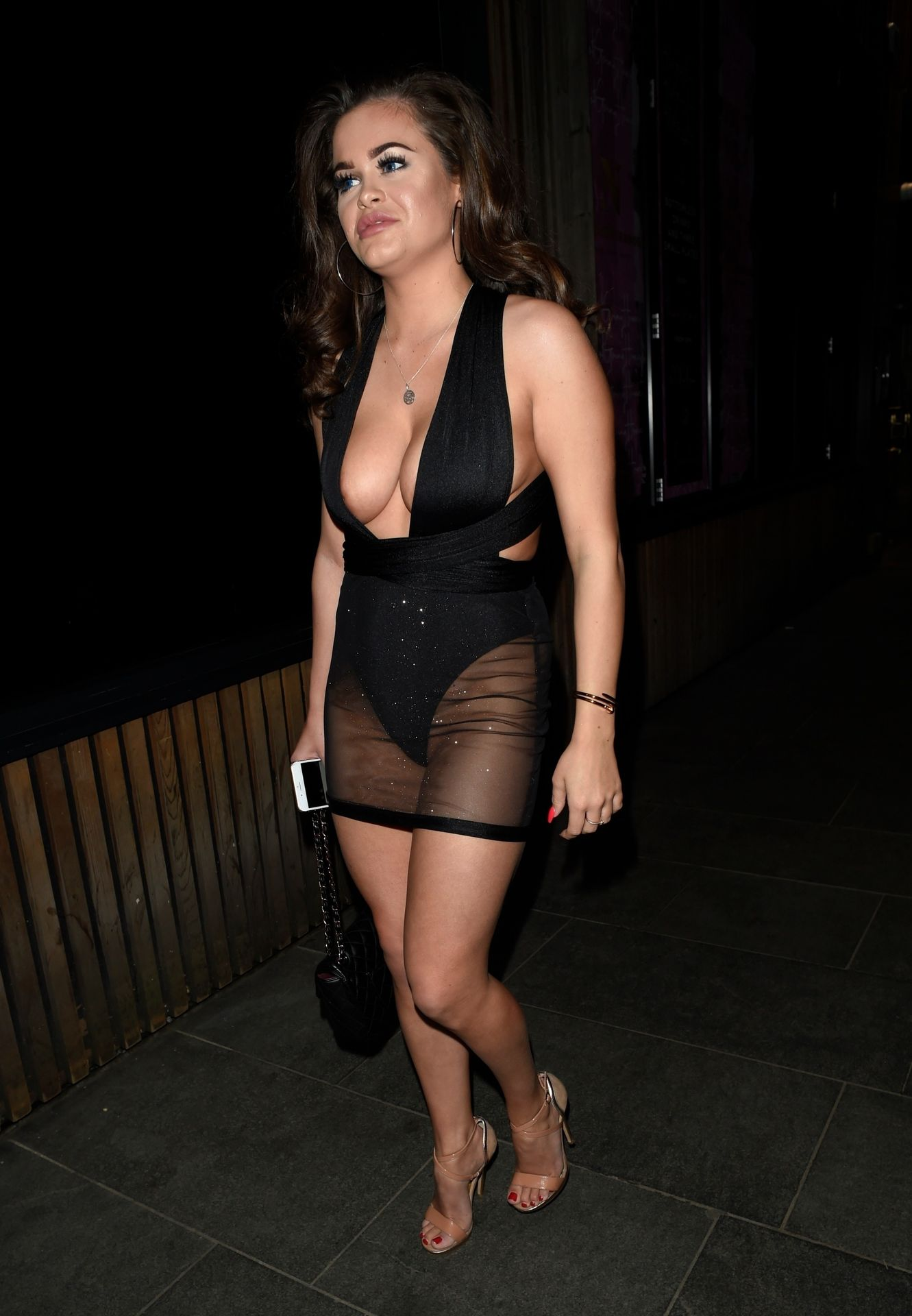 Rhianne Saxby & Sarah Longbottom Look Hot In Manchester 0005