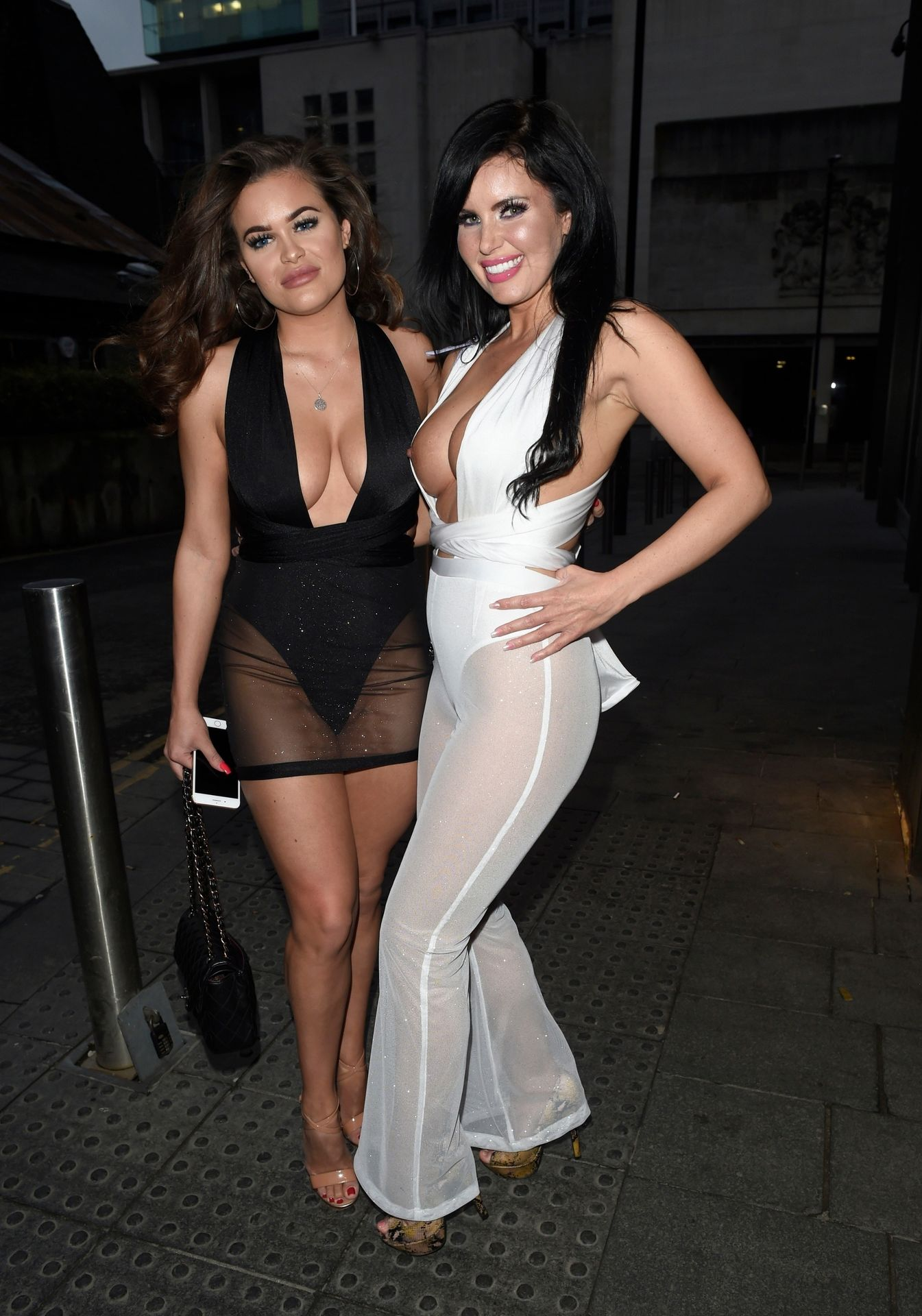 Rhianne Saxby & Sarah Longbottom Look Hot In Manchester 0008