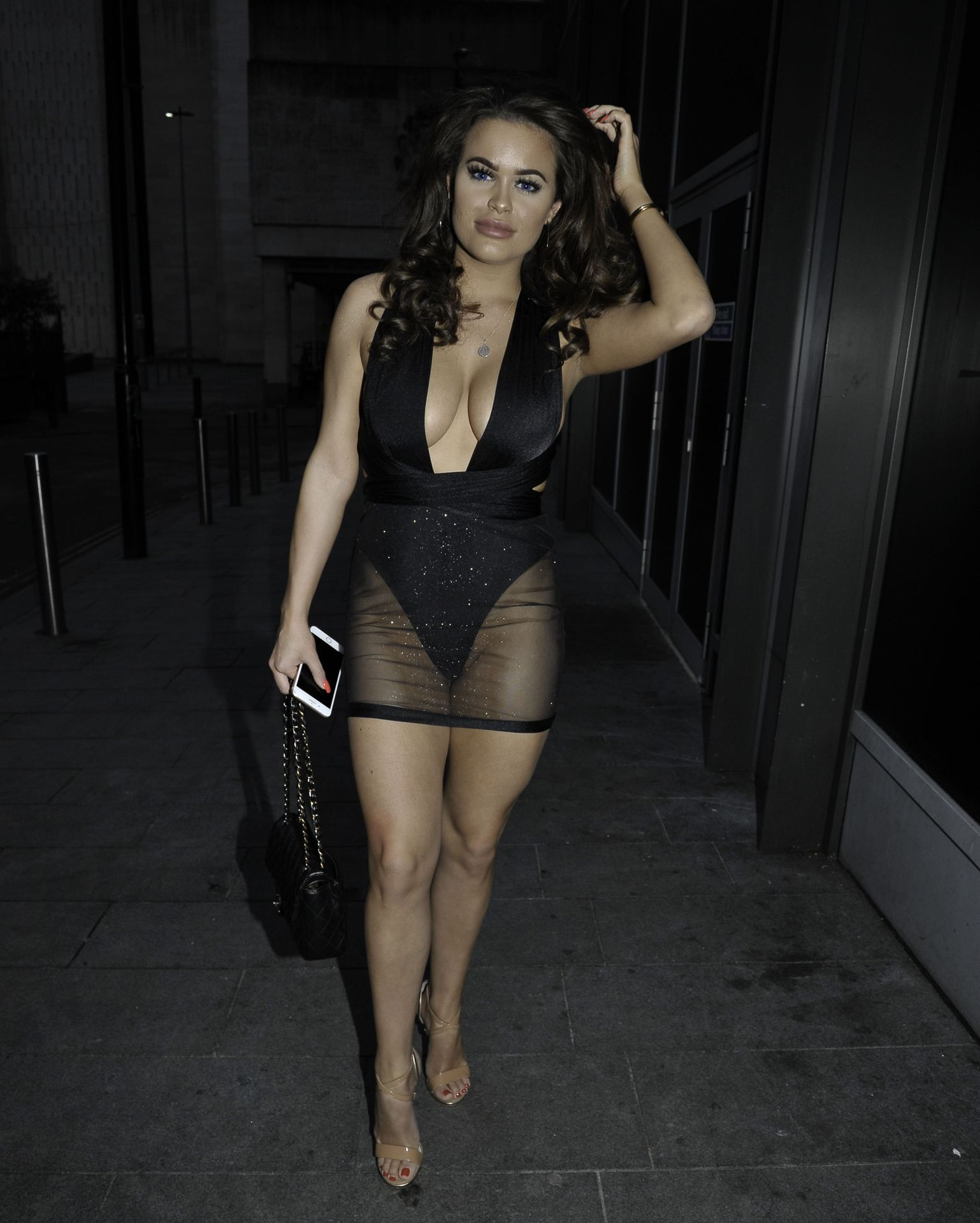 Rhianne Saxby & Sarah Longbottom Look Hot In Manchester 0010