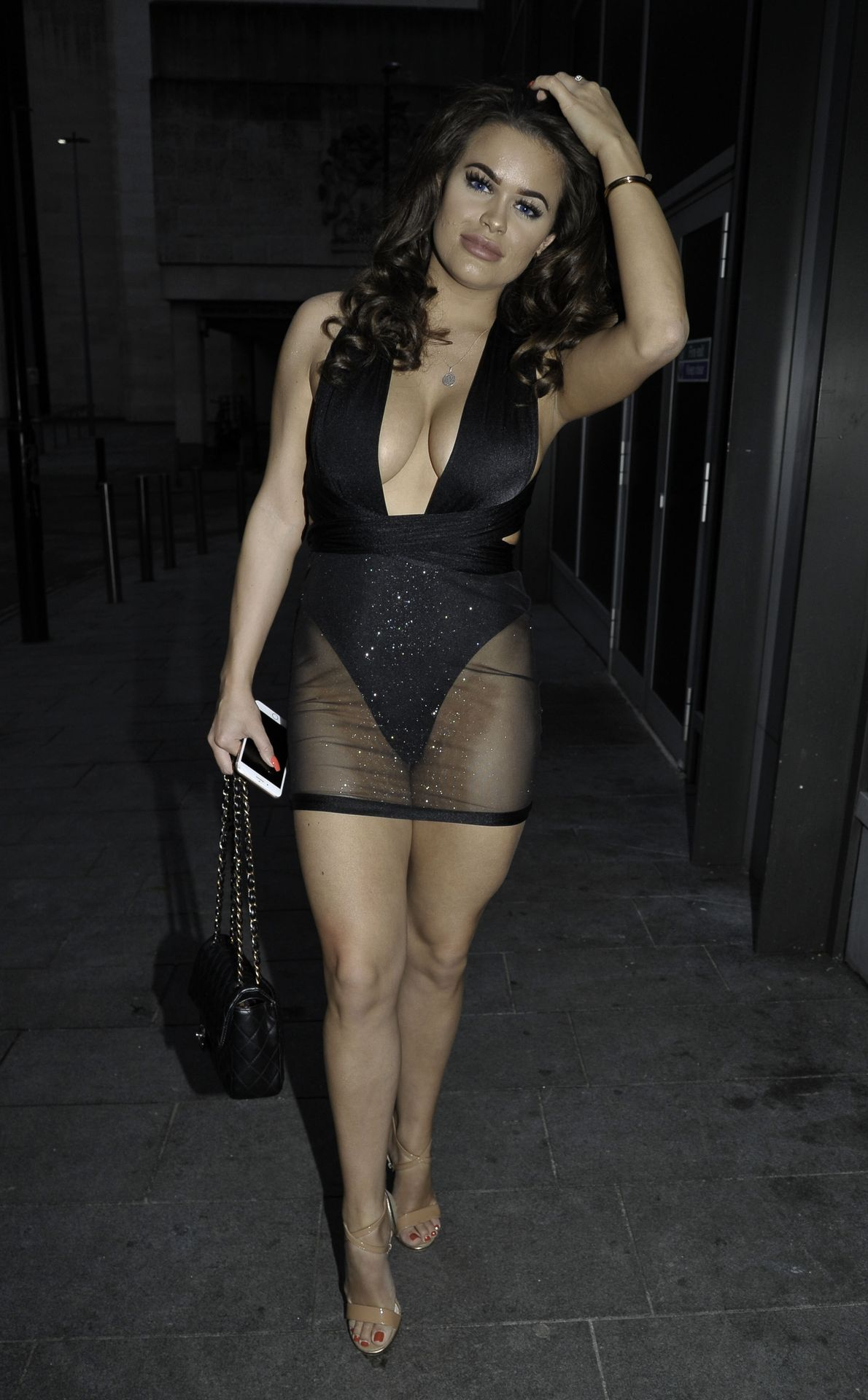 Rhianne Saxby & Sarah Longbottom Look Hot In Manchester 0019