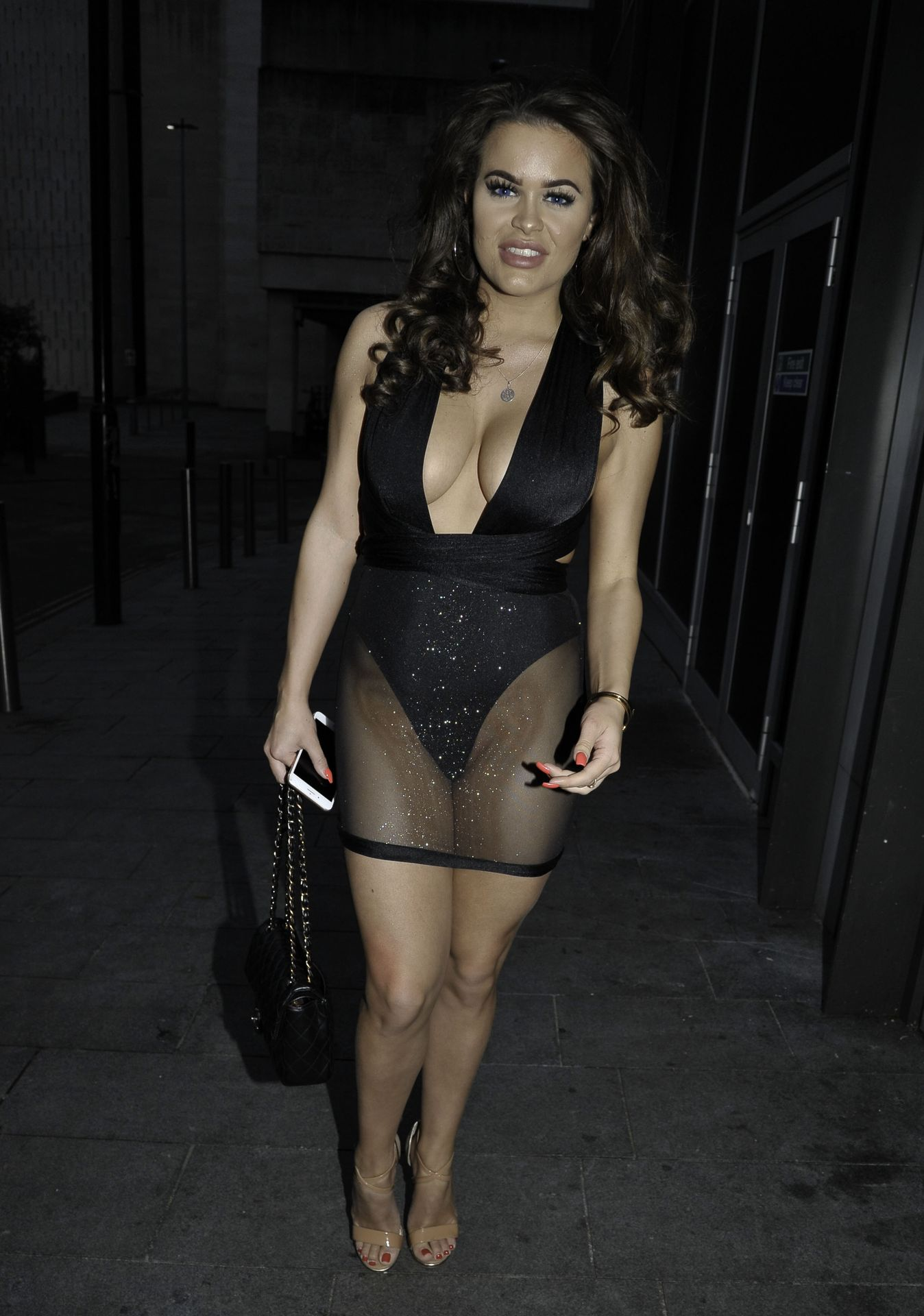 Rhianne Saxby & Sarah Longbottom Look Hot In Manchester 0023