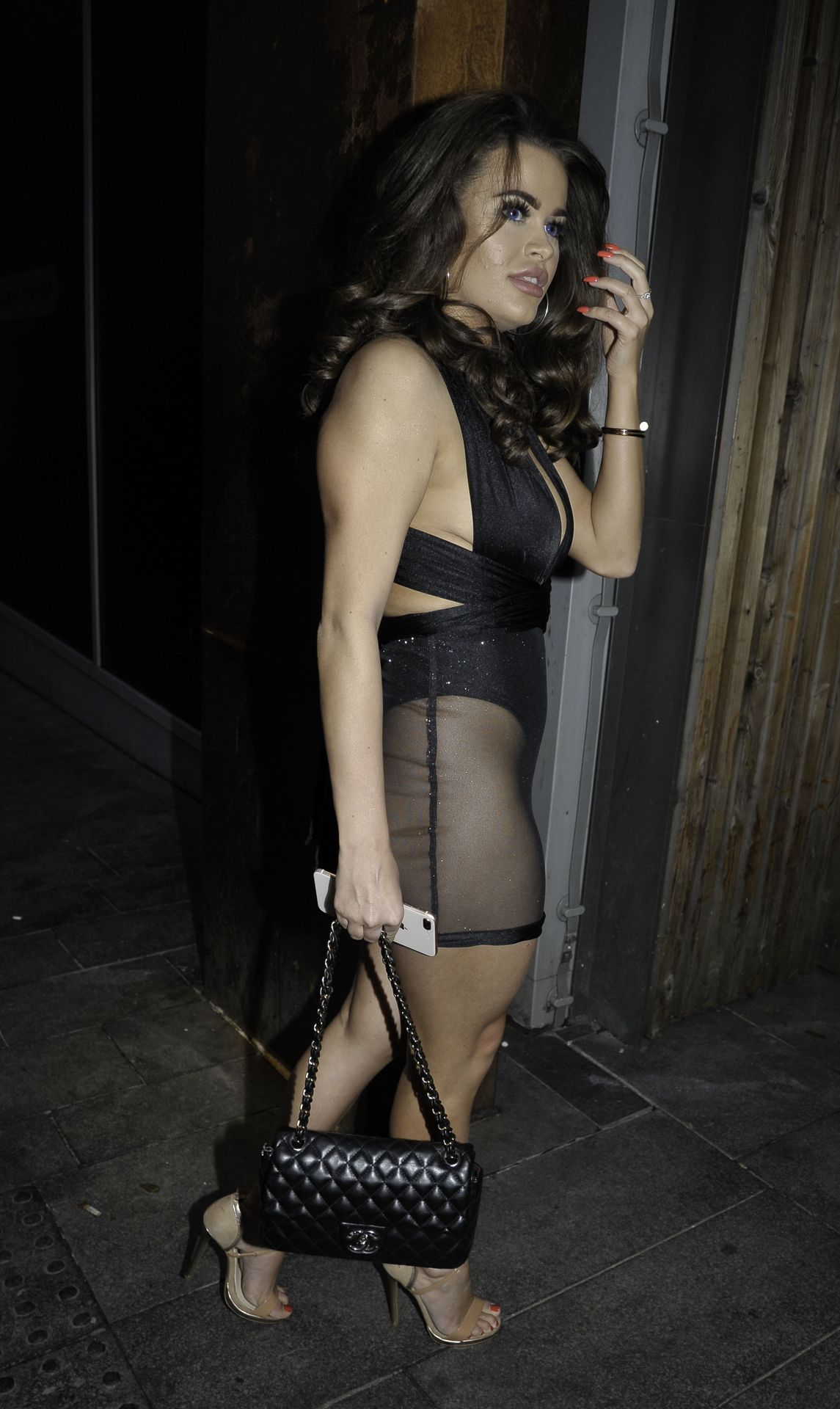Rhianne Saxby & Sarah Longbottom Look Hot In Manchester 0028