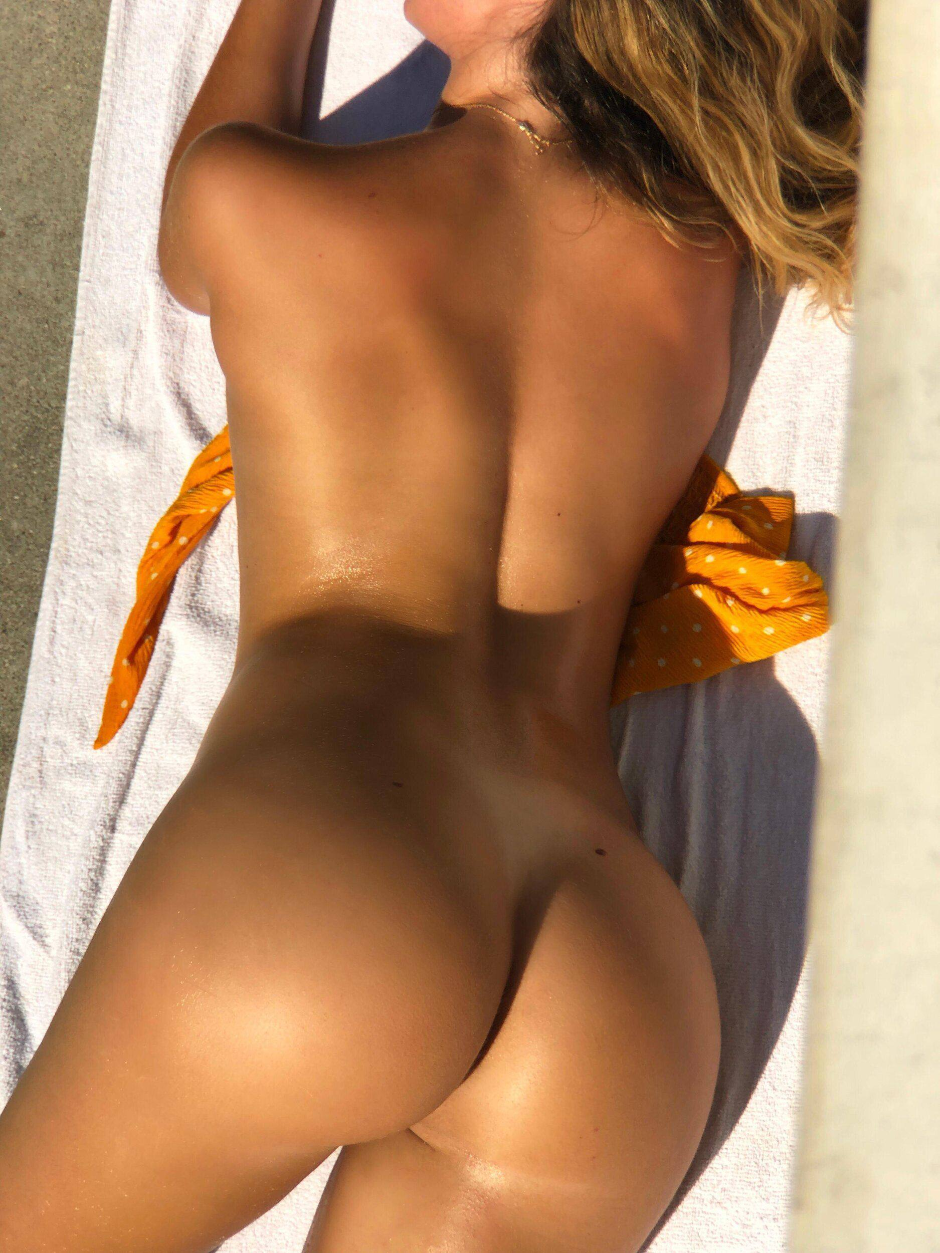 Rihanna Sexy In Fenty Beauty Cream Blush & Bronzer Photoshoot 0006