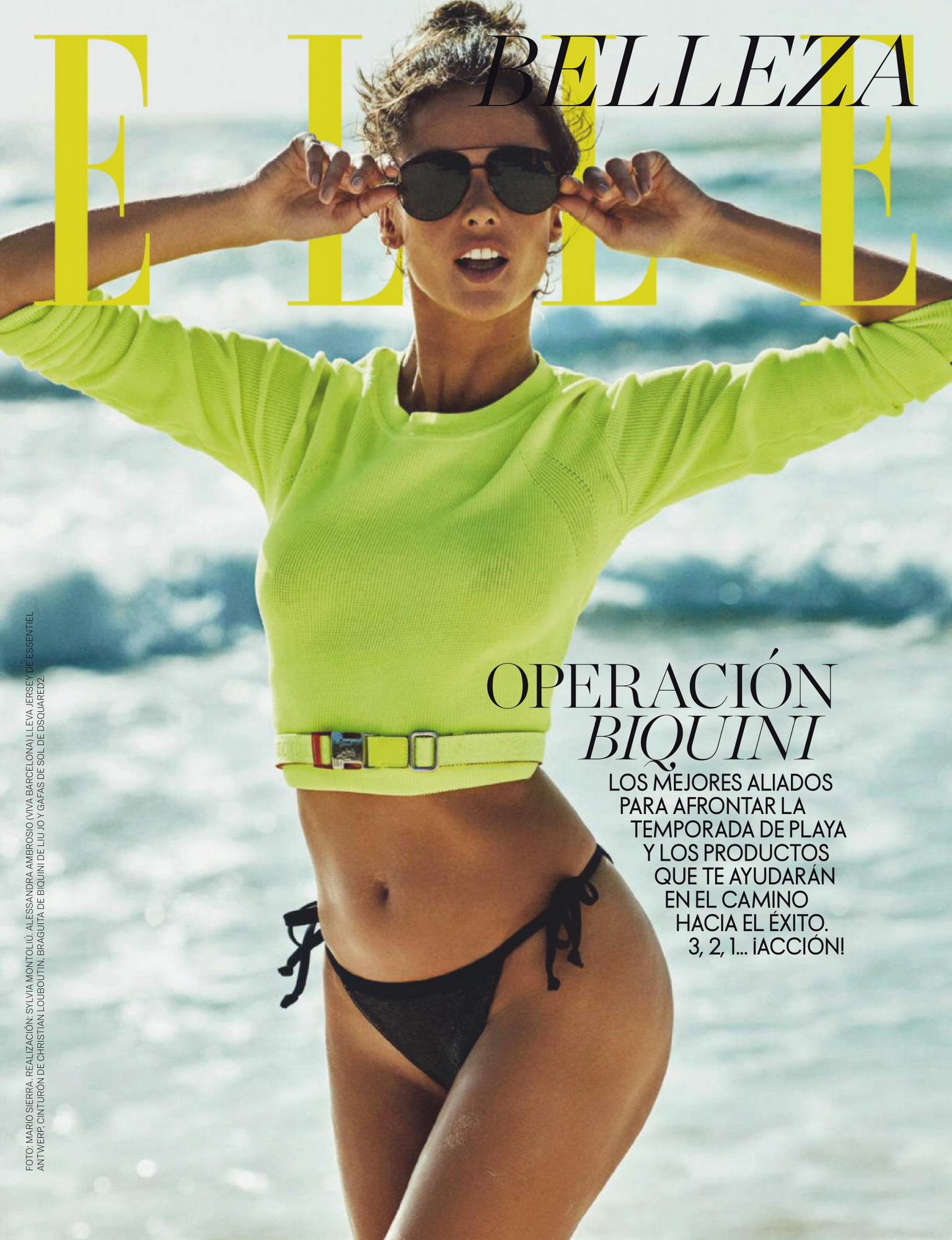 Alessandra Ambrosio – Beautiful Boobs In Sexy Photoshoot For Elle Spain Magazine (june 2020) 0002
