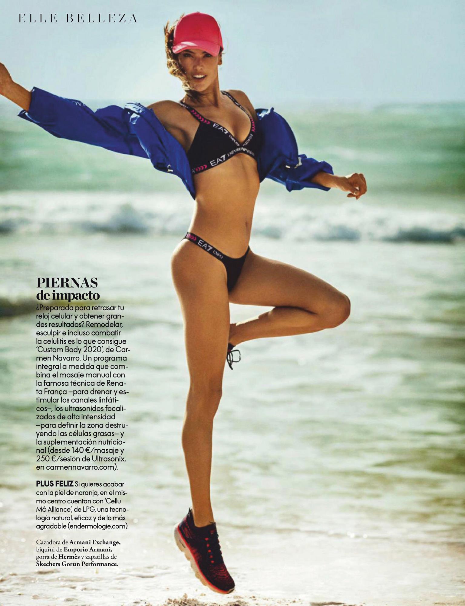 Alessandra Ambrosio – Beautiful Boobs In Sexy Photoshoot For Elle Spain Magazine (june 2020) 0003