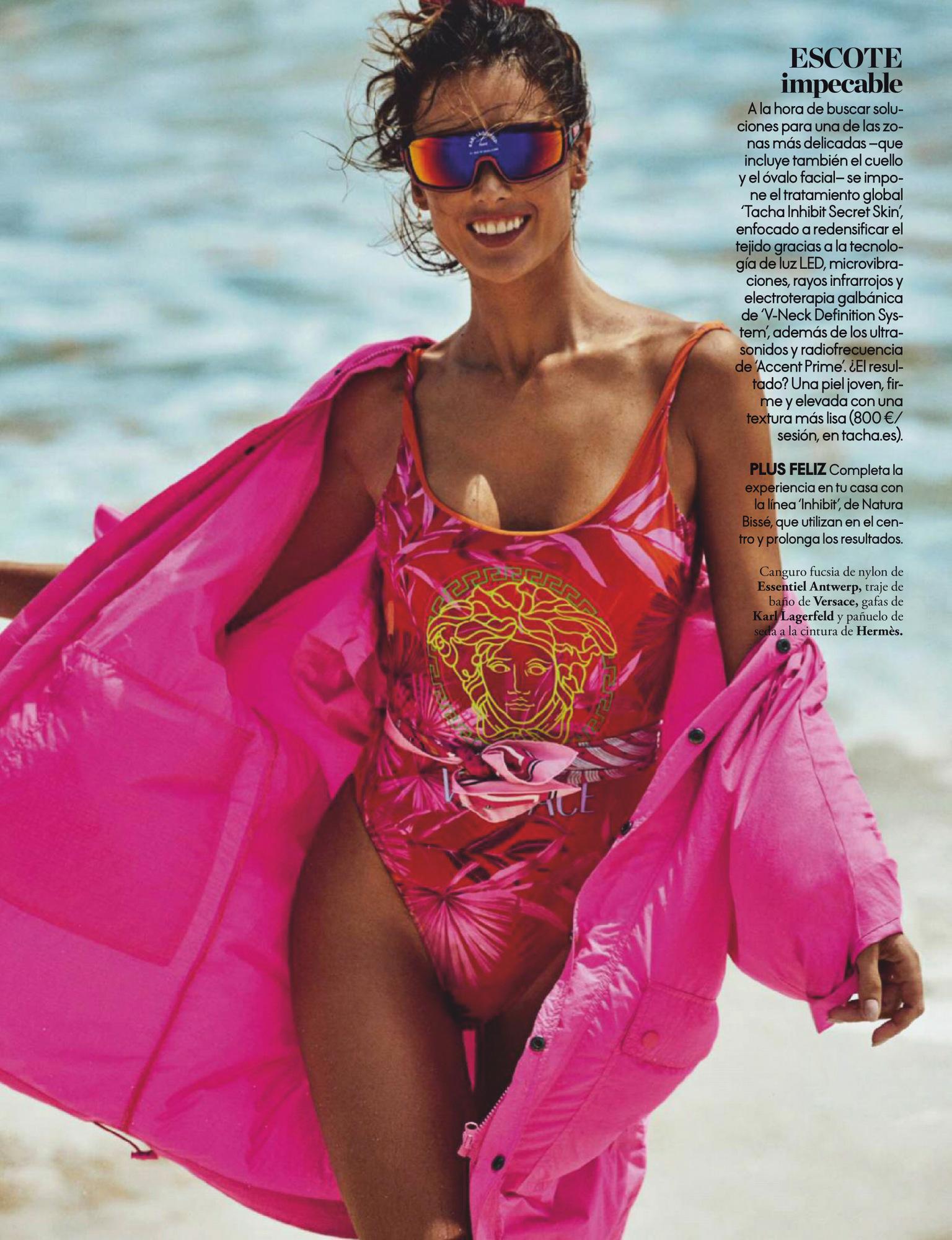 Alessandra Ambrosio – Beautiful Boobs In Sexy Photoshoot For Elle Spain Magazine (june 2020) 0004