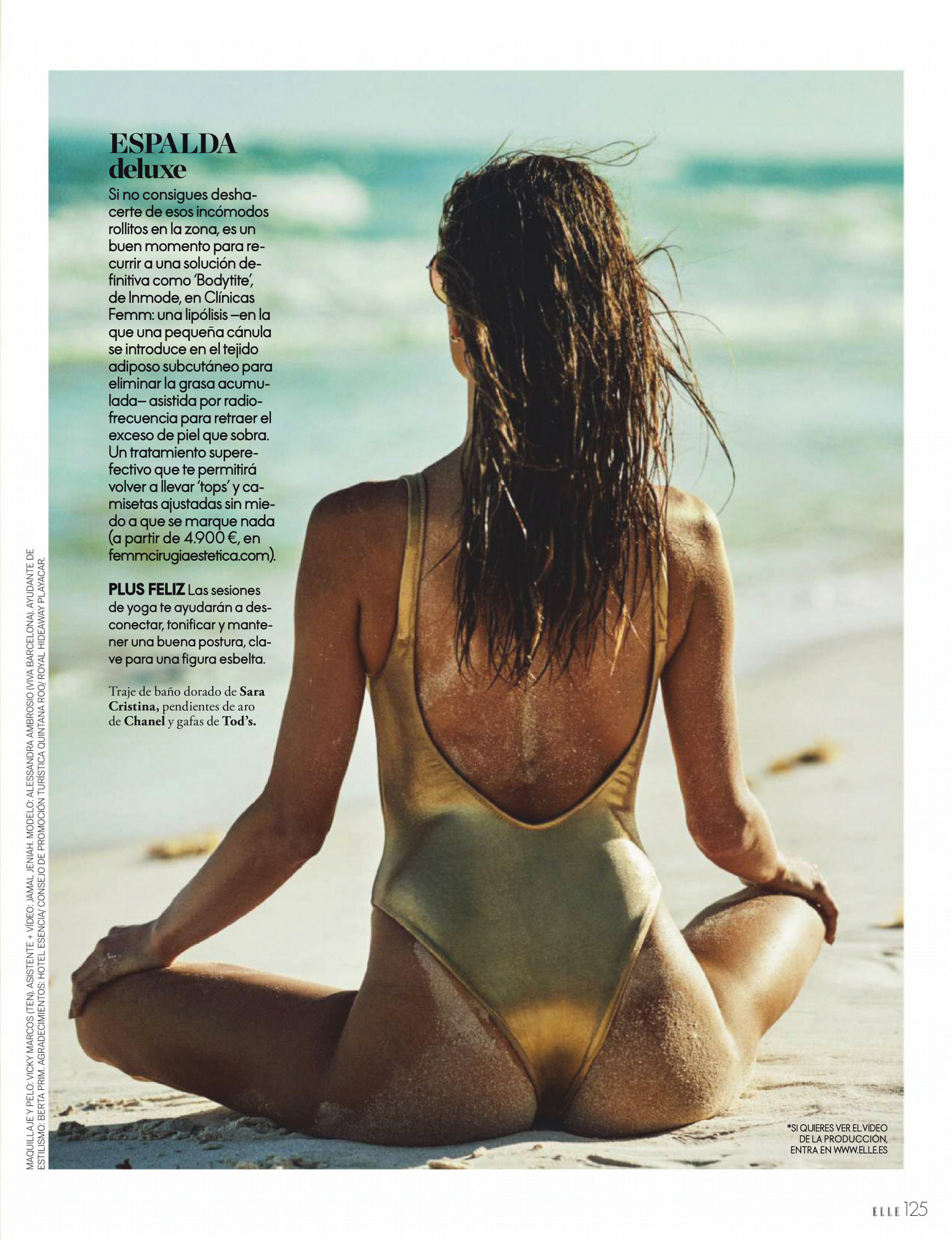 Alessandra Ambrosio – Beautiful Boobs In Sexy Photoshoot For Elle Spain Magazine (june 2020) 0012