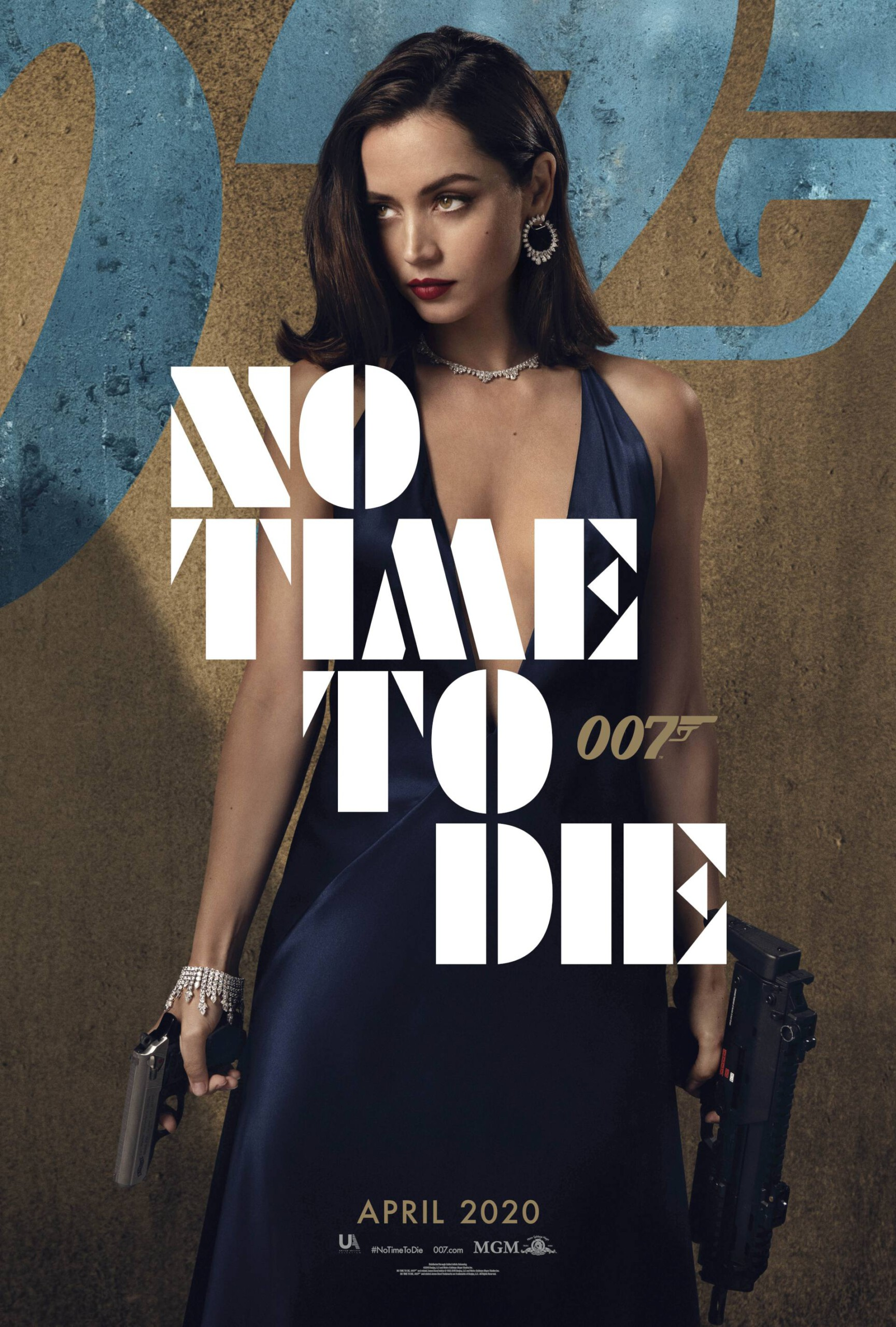 "Ana De Armas – Gorgeous In Black Dress For ""no Time To Die"" Movie Promo 0003"
