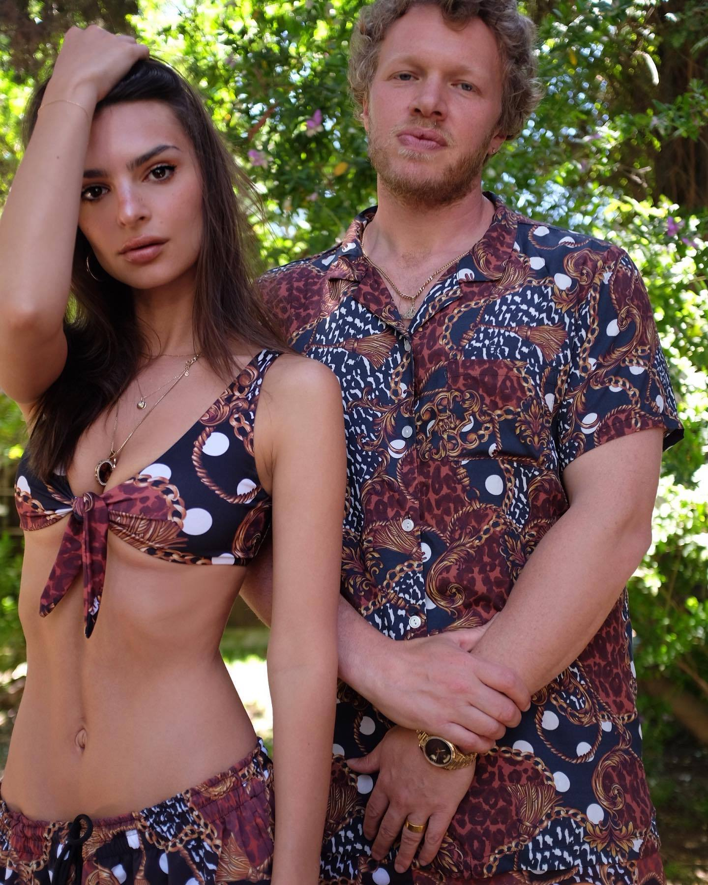 Emily Ratajkowski – Perfect Boobs In Sexy Braless Photoshoot For Inamorata Collection 0006