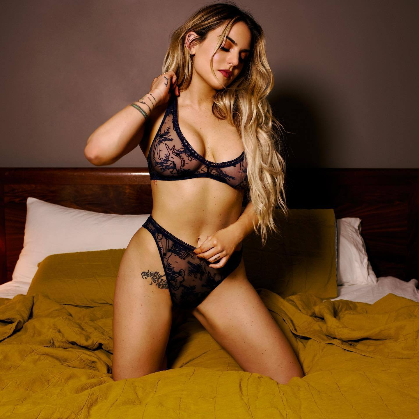 Jojo Levesque – Hot Boobs And Ass In Savage X Fenty Lingerie Photoshoot 0002