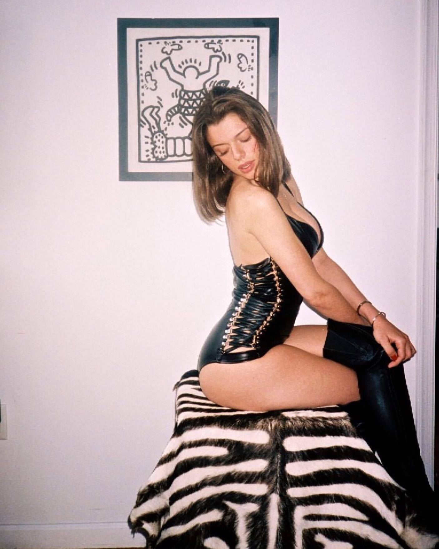 Julia Fox – Beautiful Big Boobs In Sexy Sheer Lingerie 0008