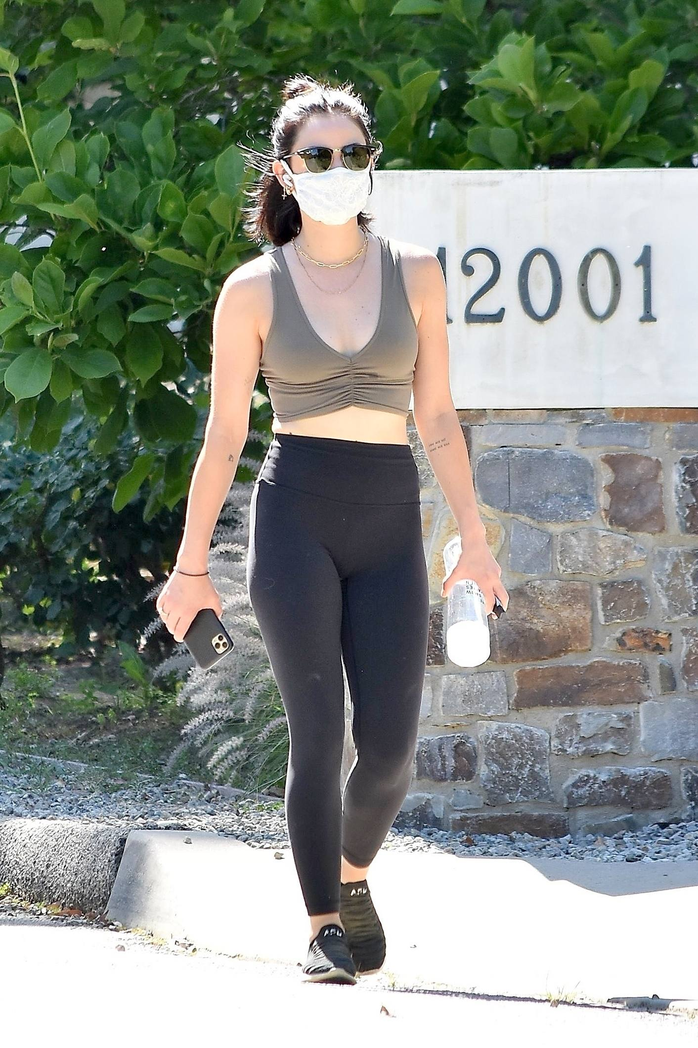 Lucy Hale – Sexy Ass And Boobs Out In Studio City 0008