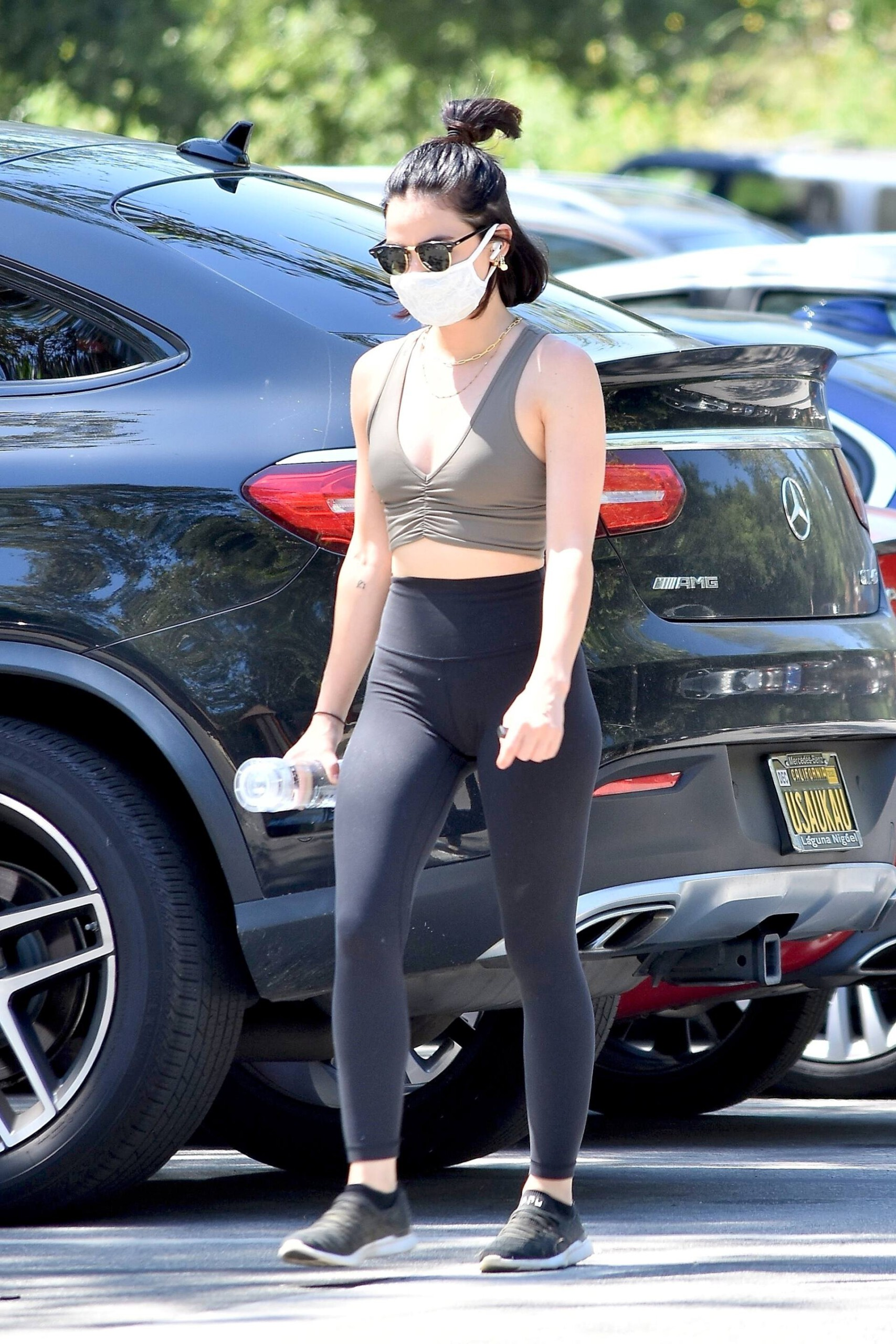 Lucy Hale – Sexy Ass And Boobs Out In Studio City 0010