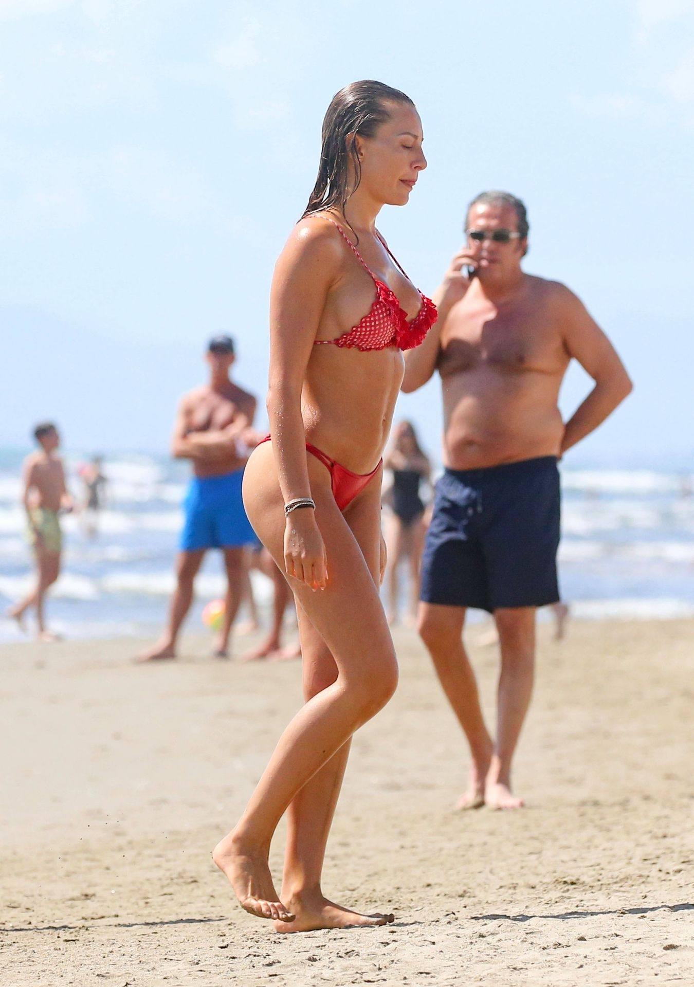 Alessia Tedeschi – Beautiful Boobs In Sexy Bikini 0004