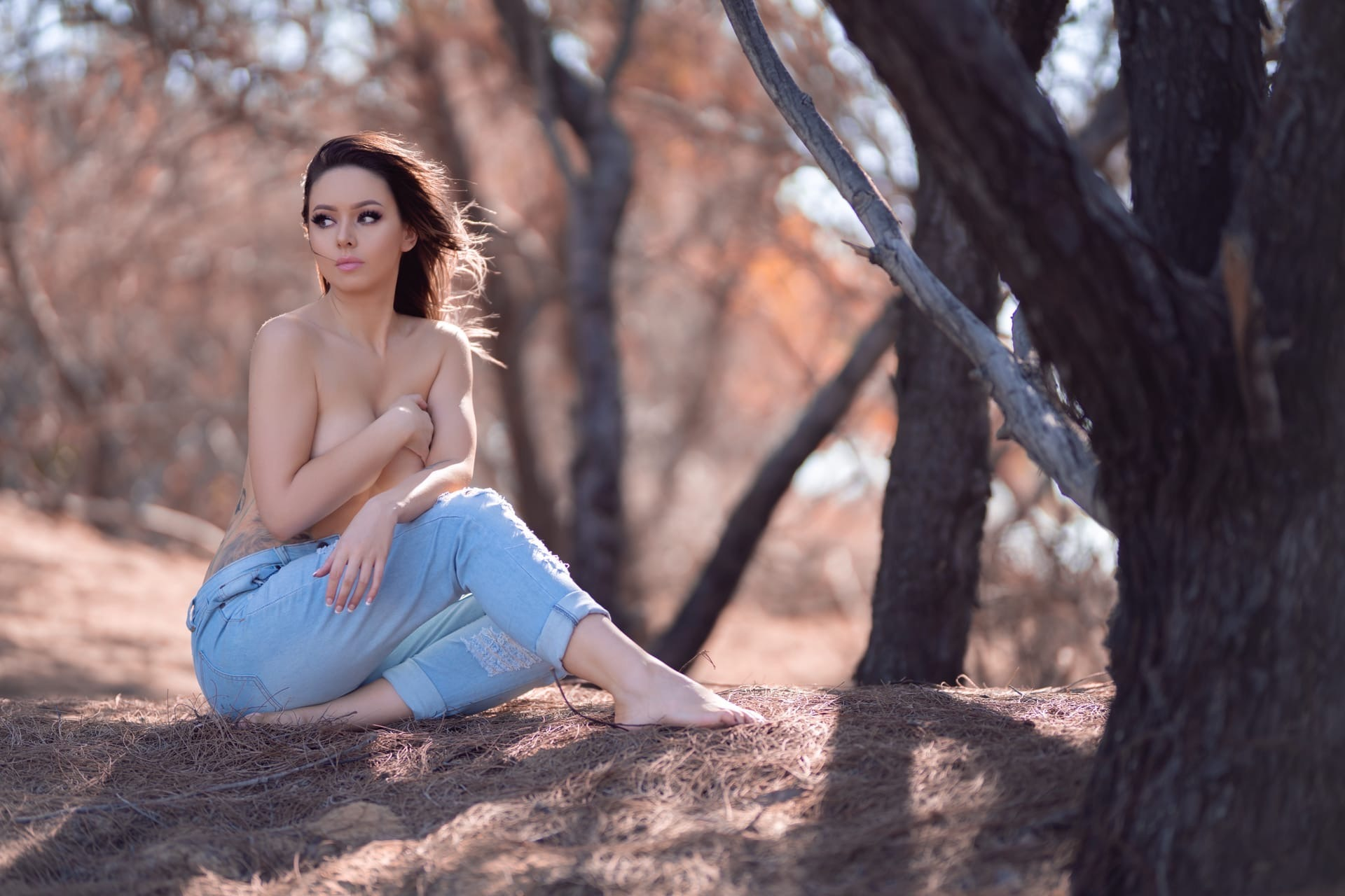 Amy Thunderbolt, Patreon, Amy Rose, Onlyfans Warm Wilderness 0044