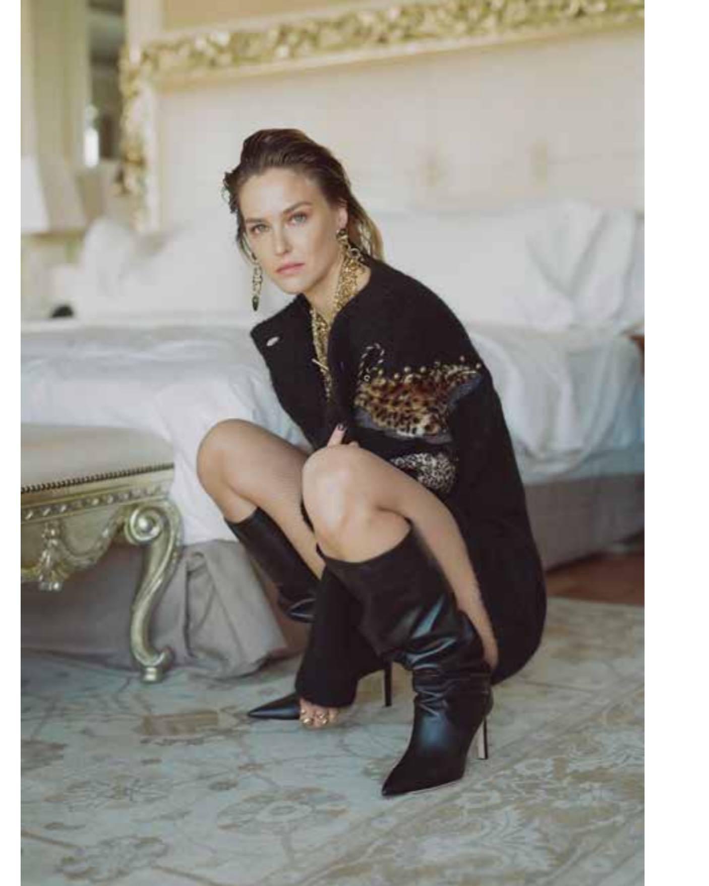 Bar Refaeli – Sexy Legs In Photoshoot For Dodo Bar Or Clothing Line 0002