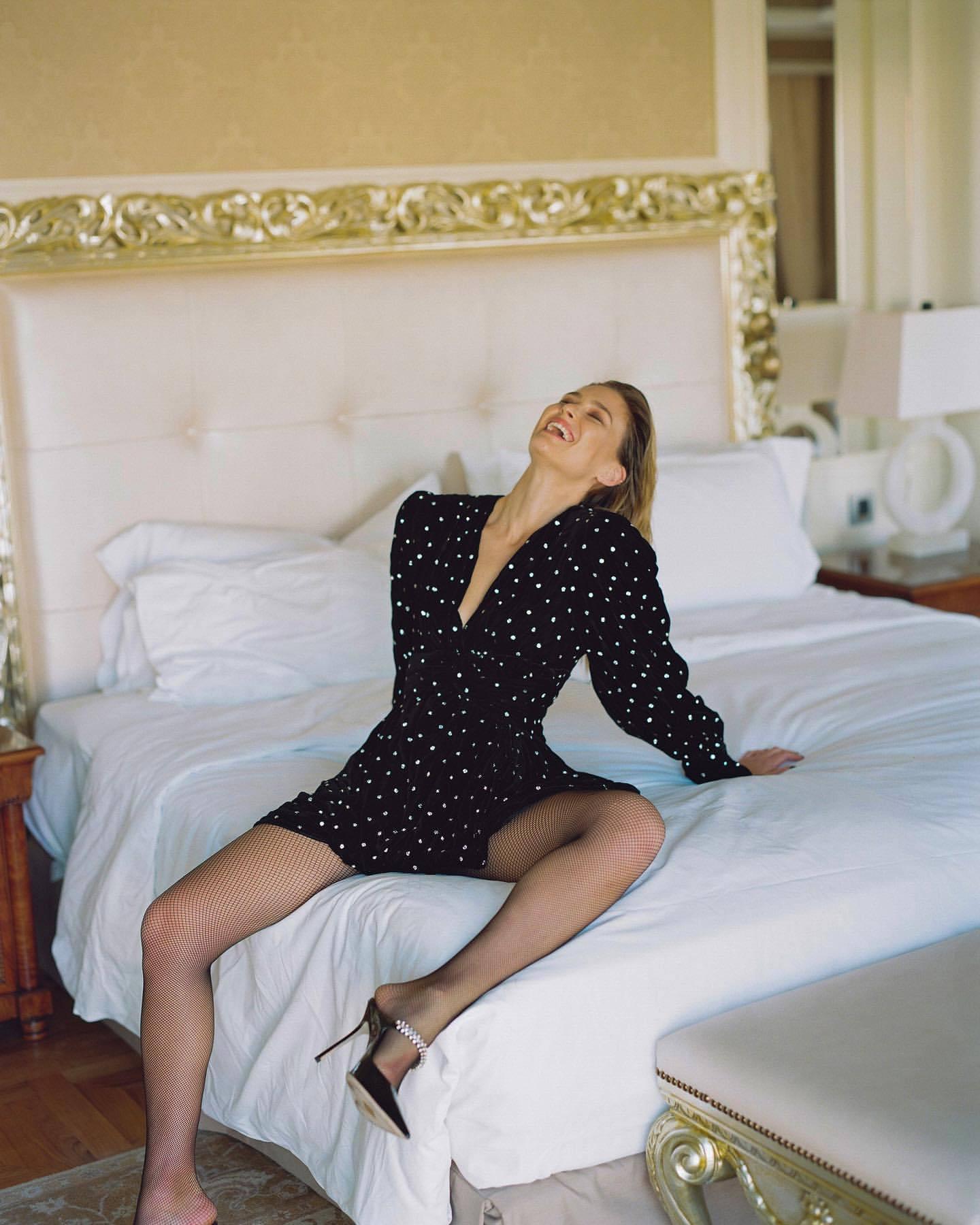 Bar Refaeli – Sexy Legs In Photoshoot For Dodo Bar Or Clothing Line 0005