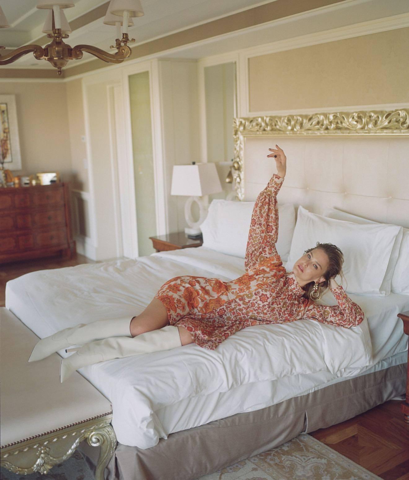 Bar Refaeli – Sexy Legs In Photoshoot For Dodo Bar Or Clothing Line 0013