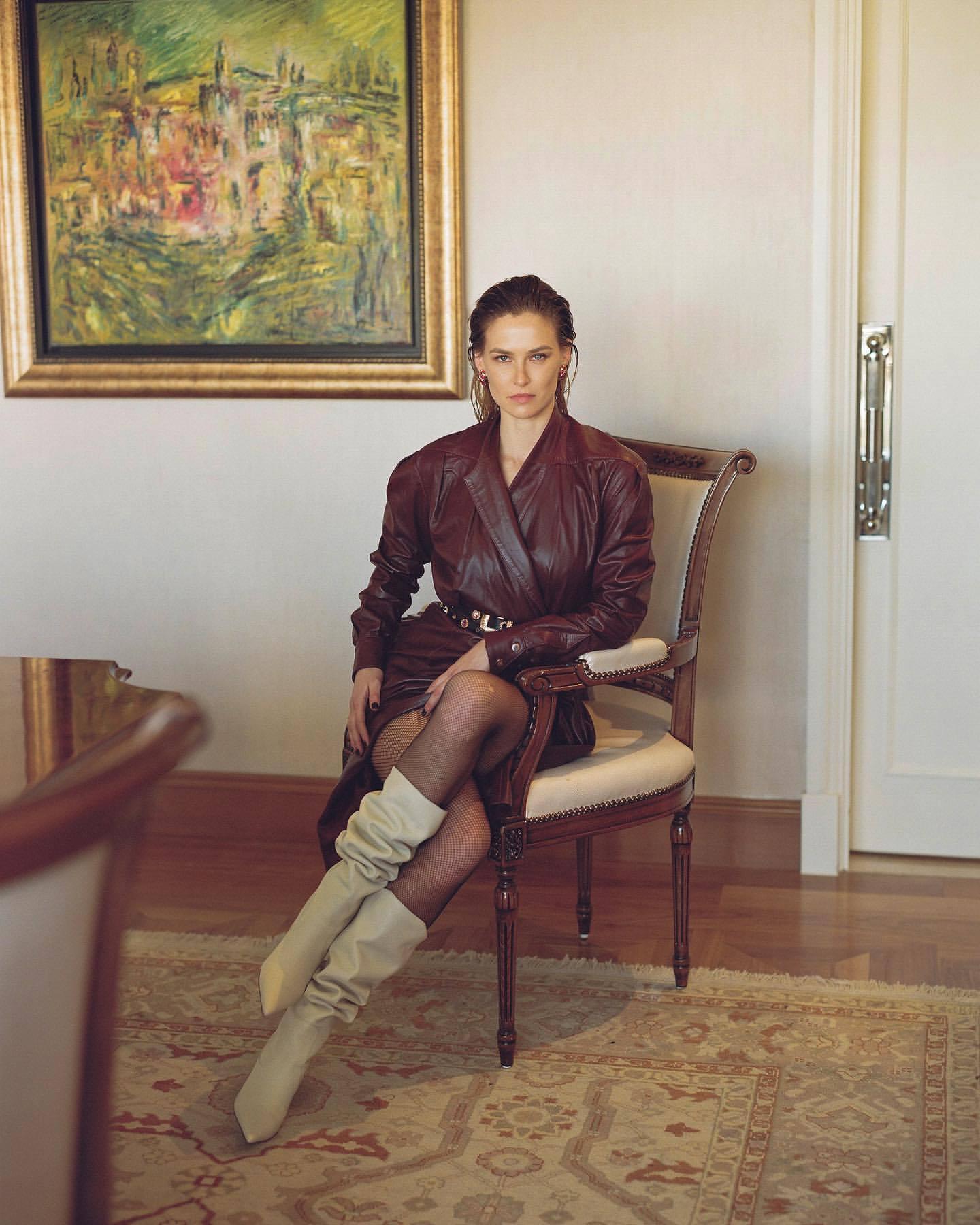 Bar Refaeli – Sexy Legs In Photoshoot For Dodo Bar Or Clothing Line 0017