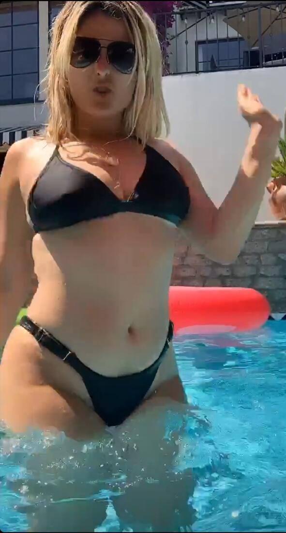 Bebe Rexha – Fantastic Big Ass In Sexy Bikini Video 0011