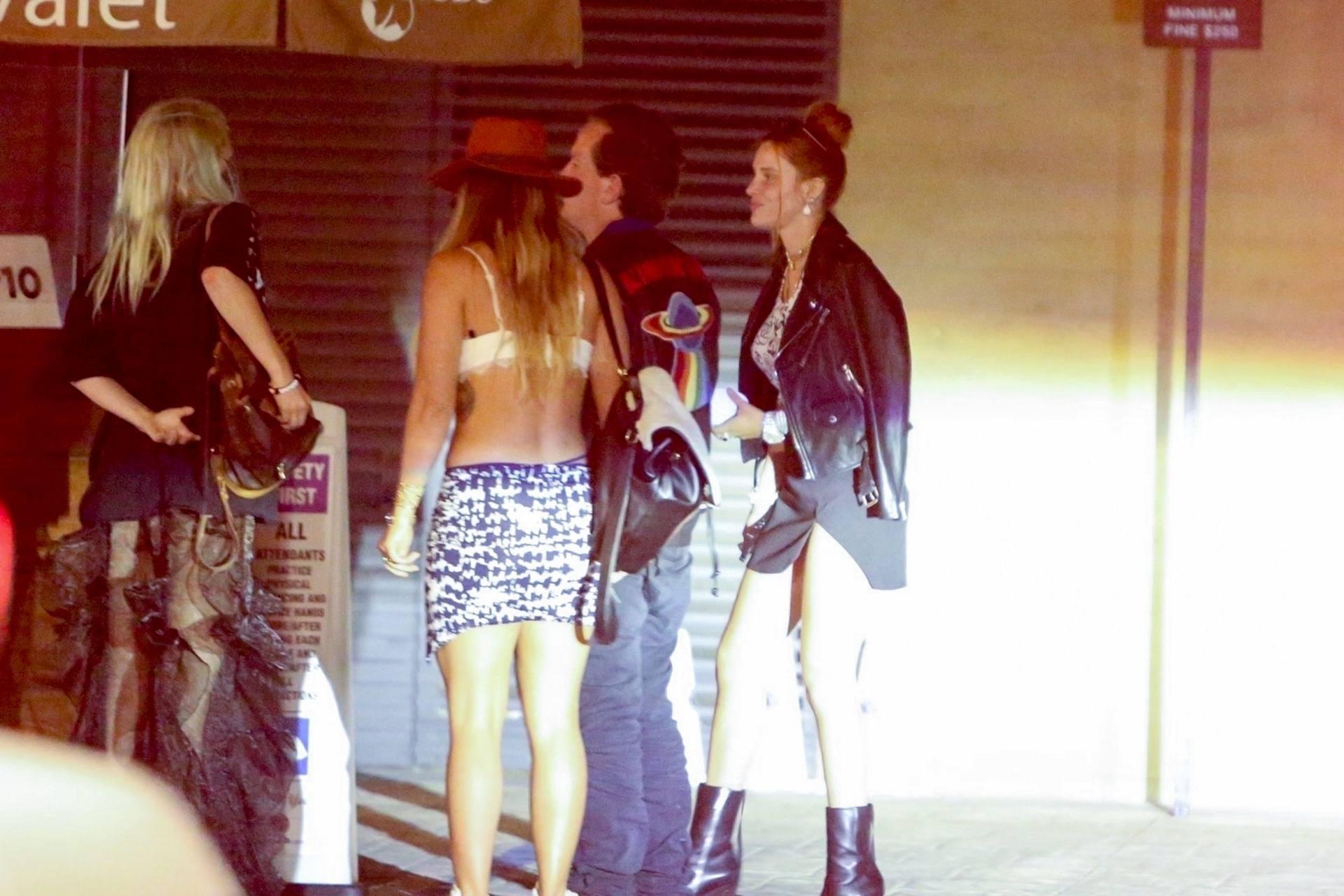 Bella & Dani Thorne – Sexy Legs In Mini Skirts At Nobu In Malibu 0016