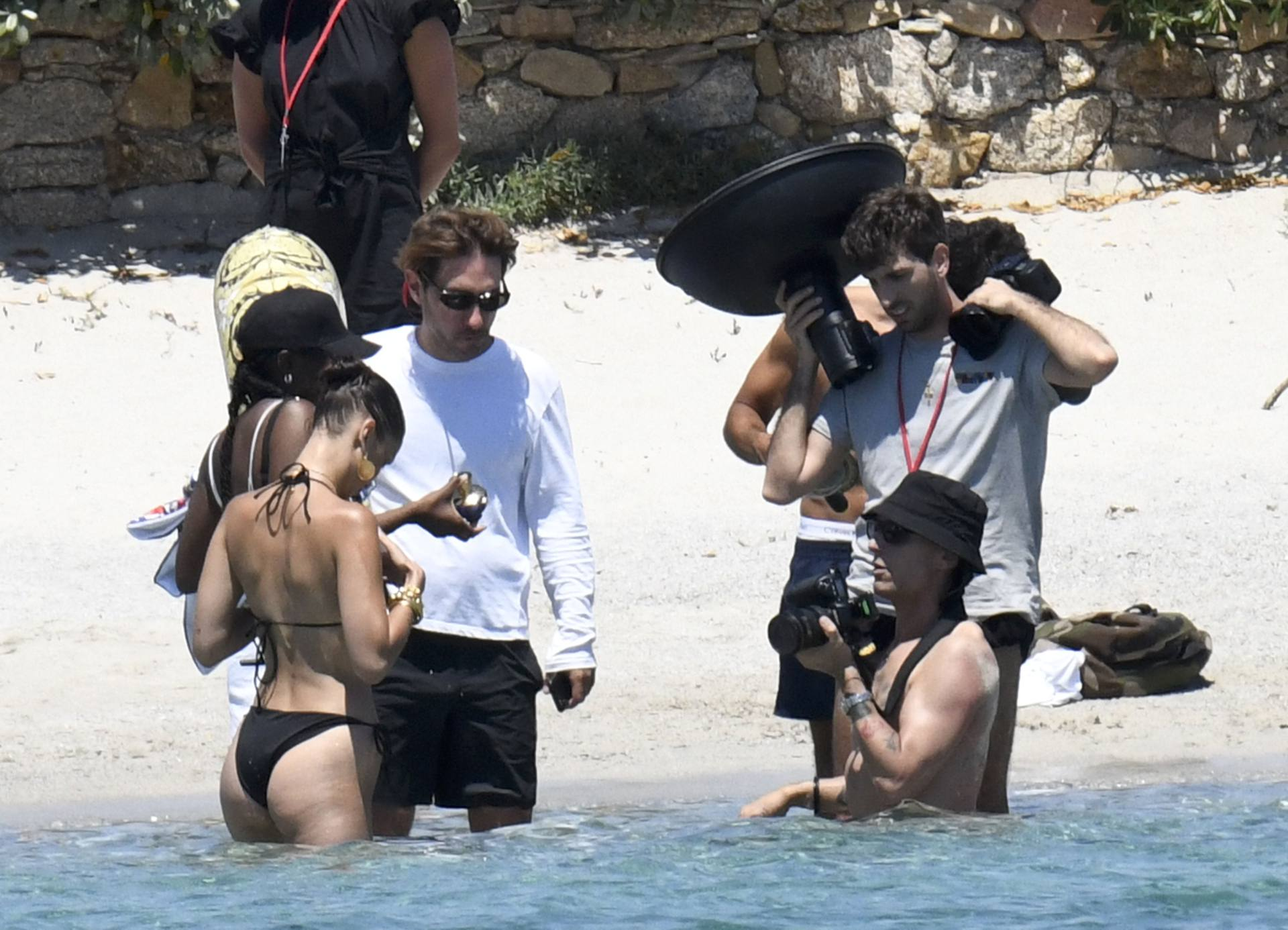 Bella Hadid – Sexy Ass In Bikini On The Photoshoot Set In Corsica 0018