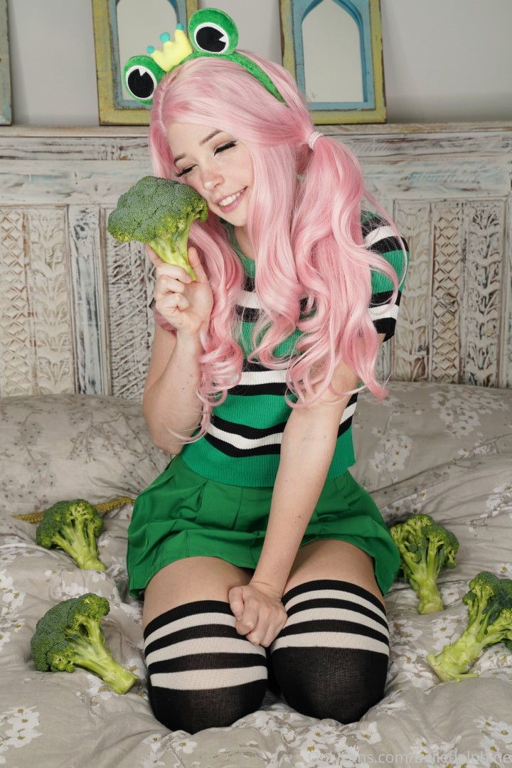Belle Delphine Eat Your Greens Onlyfans Pictures 0083